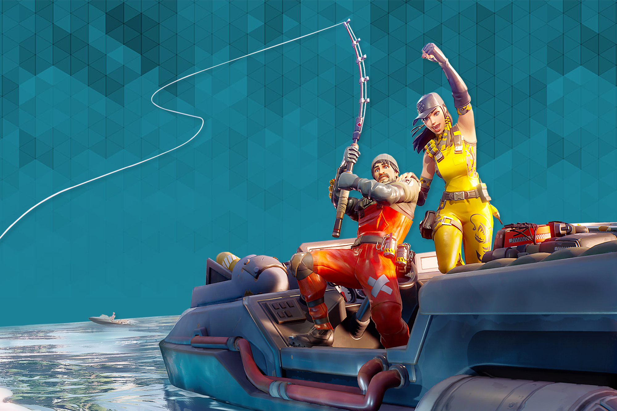 Fortnite Chapter 2 Tips How To Best Use Boats Fishing Rods Per