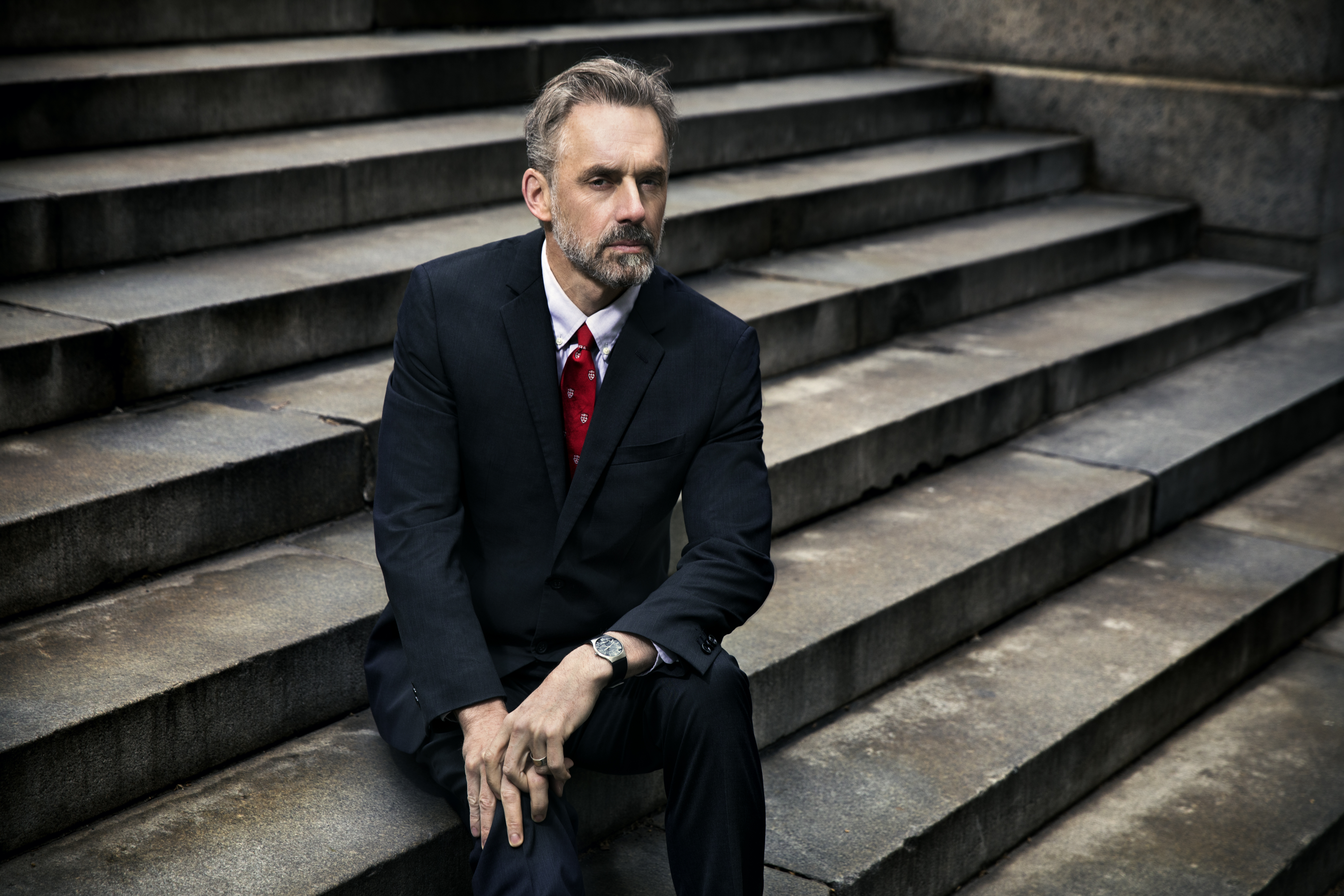 30435e54 Jordan Peterson is on a crusade to toughen up young men. It's landed him on  our cultural divide.