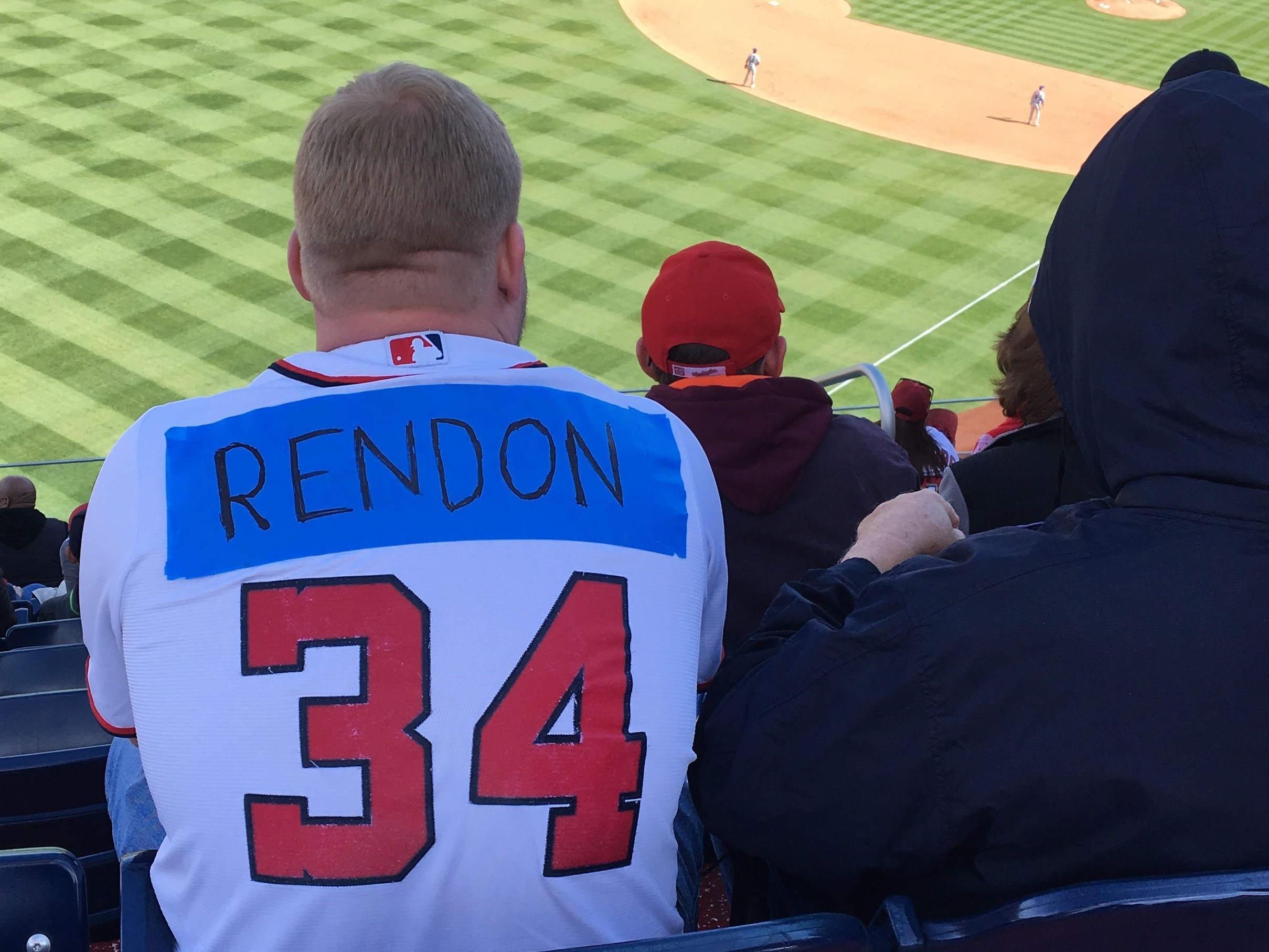 cheaper df5a2 ecc60 For Opening Day, Nats fans ripped, defaced and marked-up ...