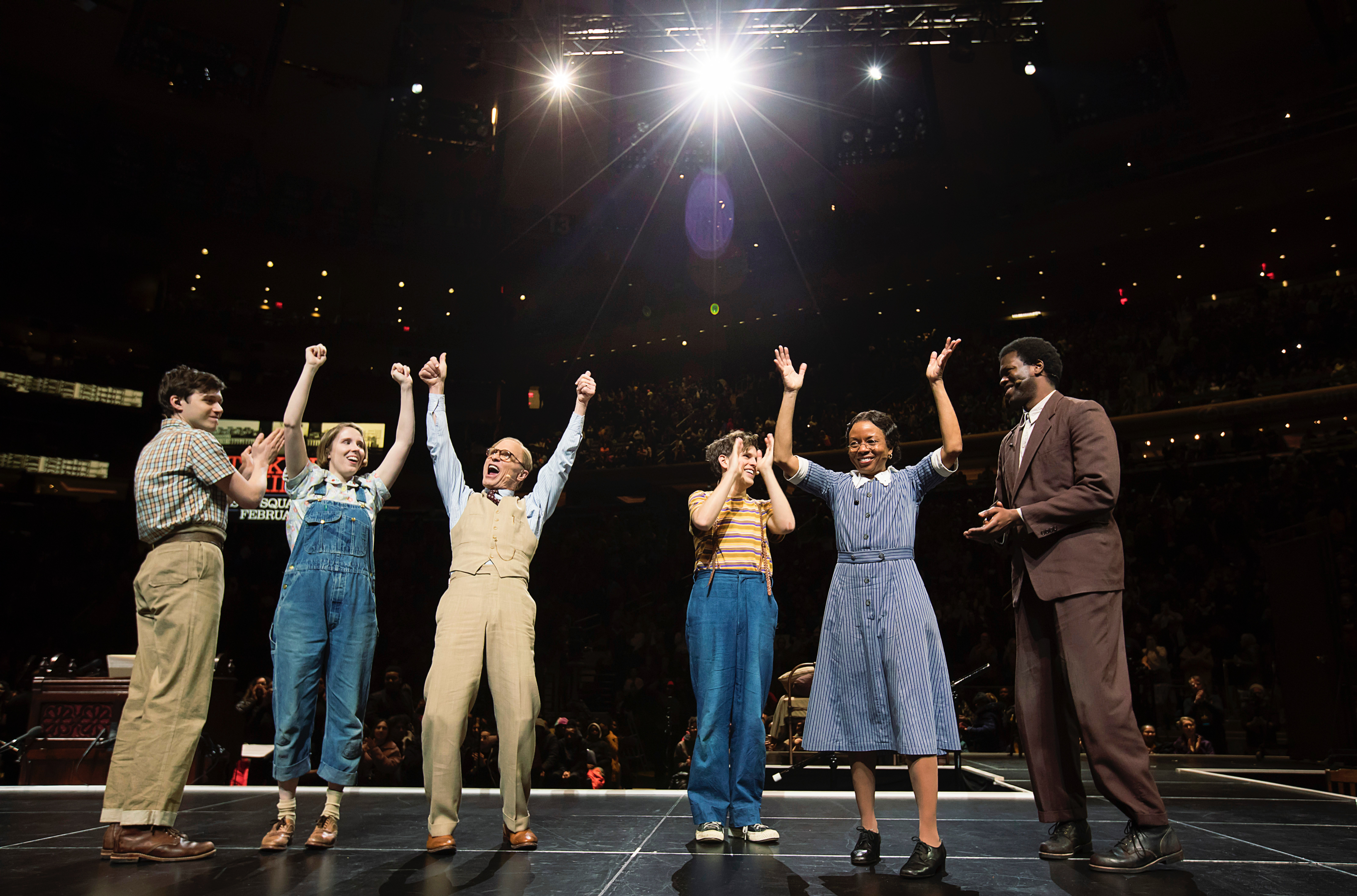 Mockingbird' at Madison Square Garden wowed 18,000 students, for free - The  Washington Post