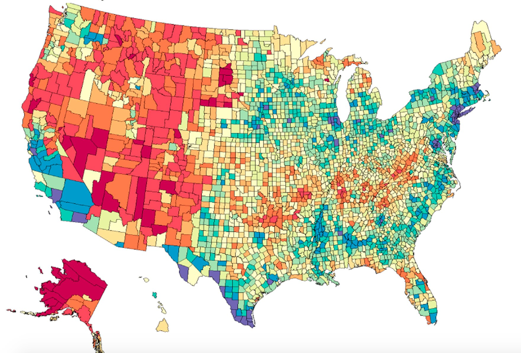 Mapping the rising tide of suicide deaths across the United ...