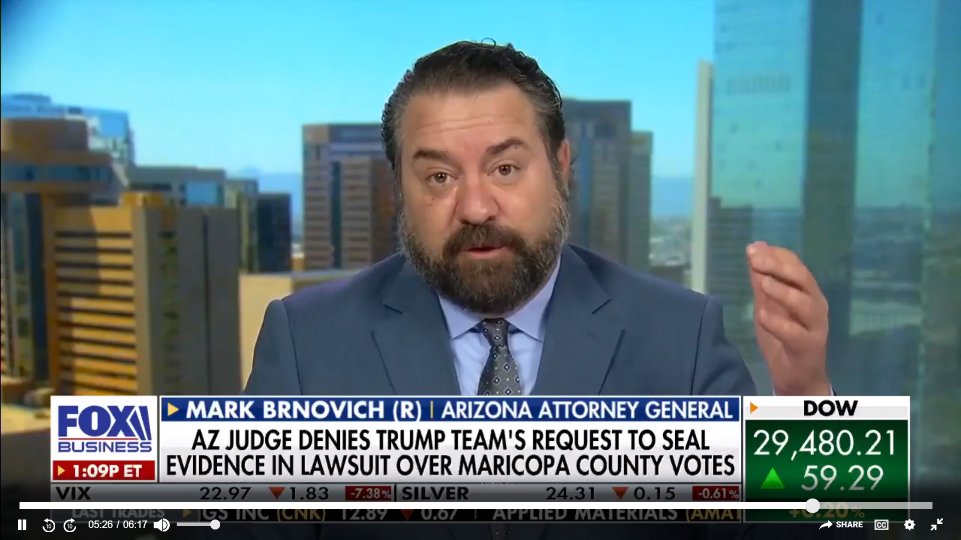 Arizona Attorney General Mark Brnovich rejects Trump's claims of voter  fraud in the state - The Washington Post