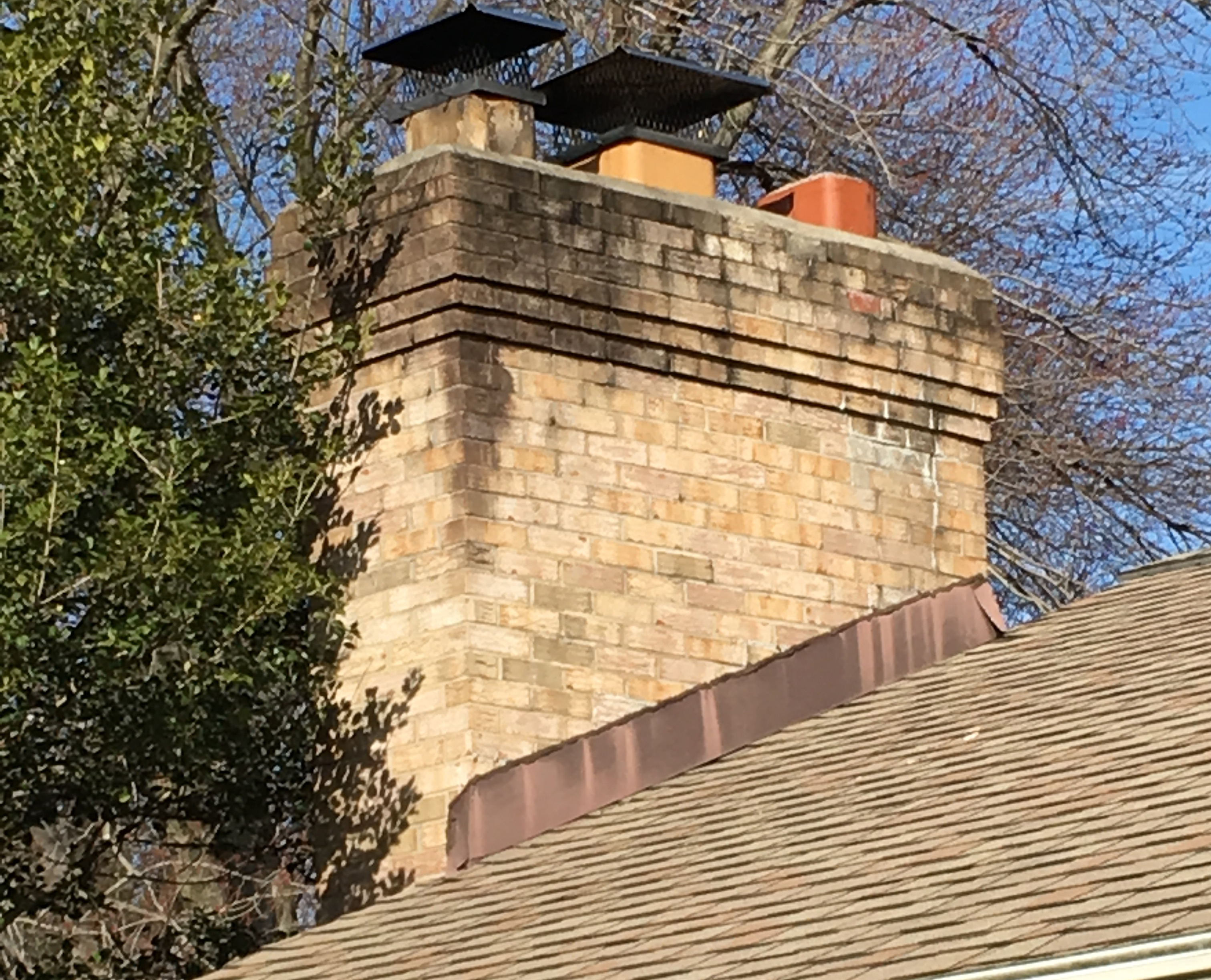 What S Causing Those Stains On The Chimney The Washington Post
