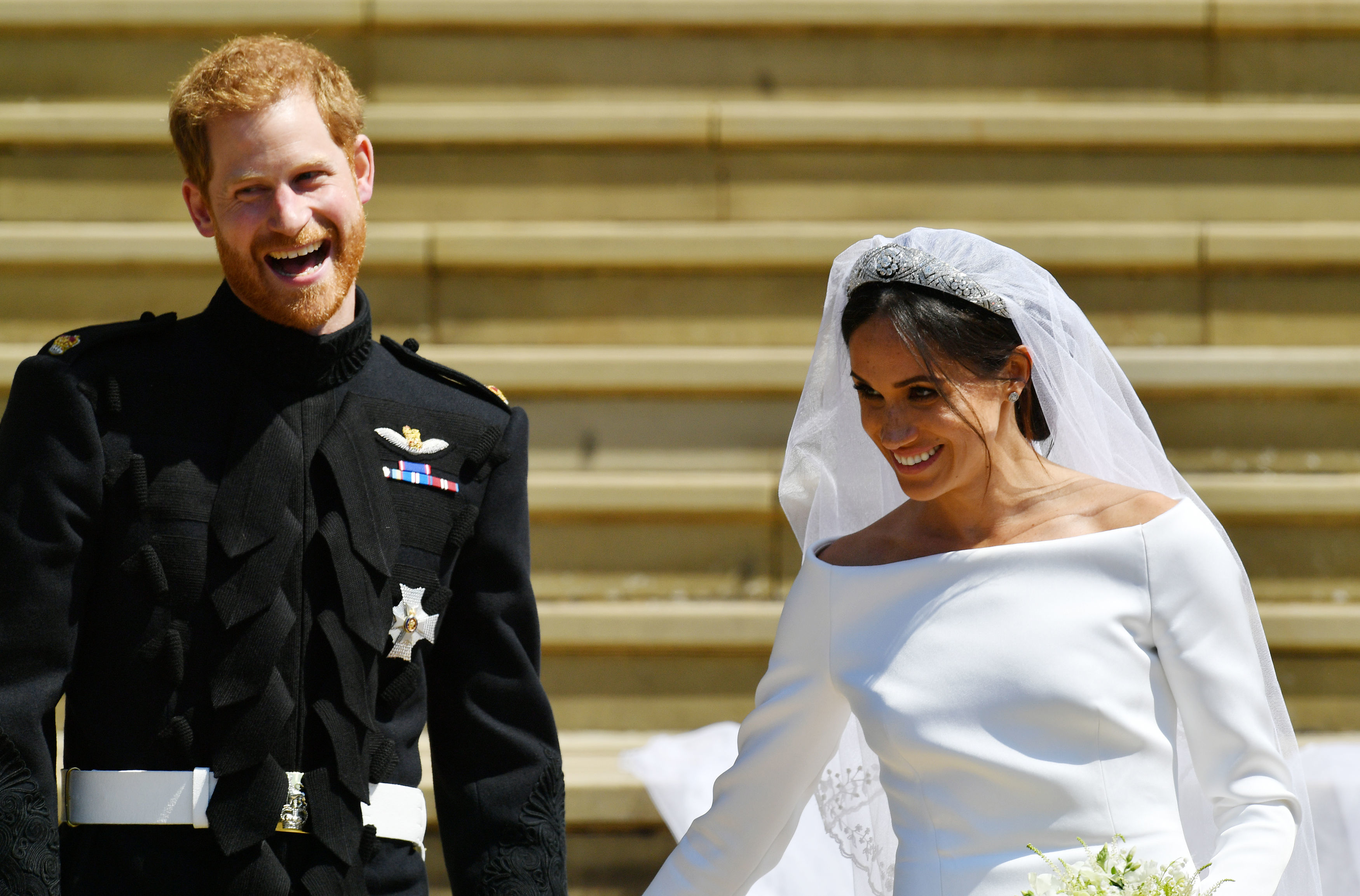 f18ea699e855 At Prince Harry and Meghan Markle's royal wedding, some things very old and  some things new - The Washington Post