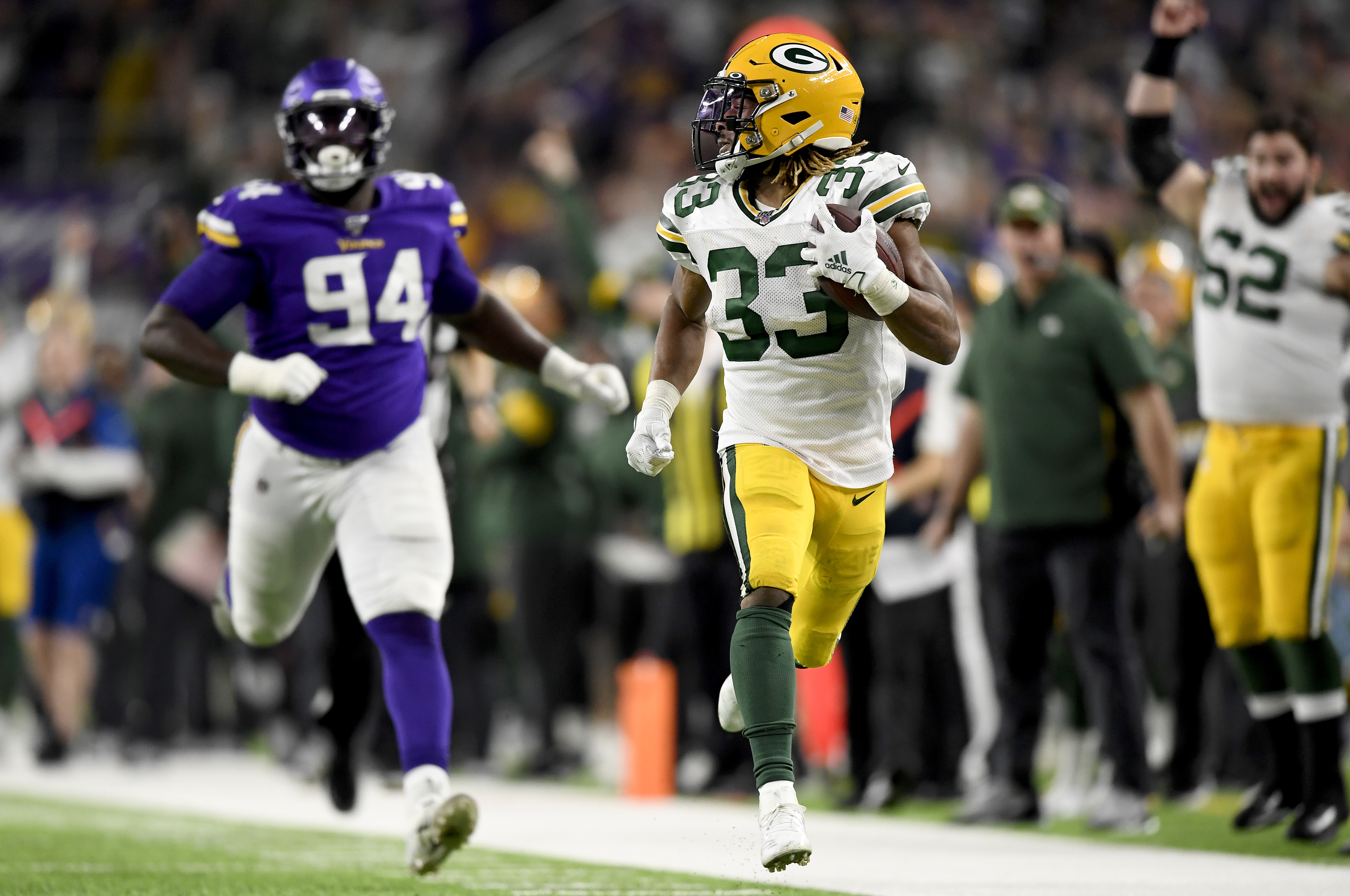 Packers Vikings Green Bay Clinches Nfc North Title As Kirk Cousins Struggles The Washington Post