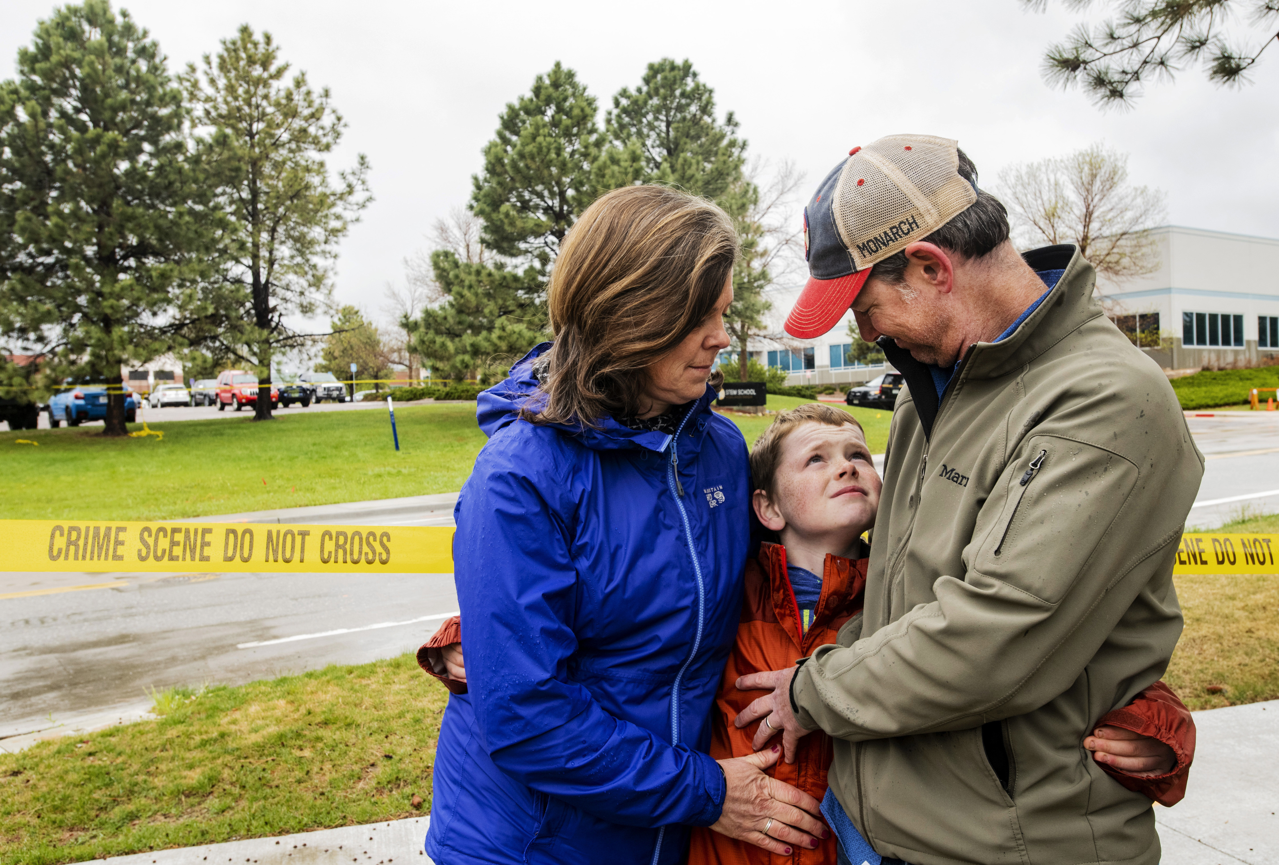 Nate Holley, 12, was ready to fight Colorado school shooter