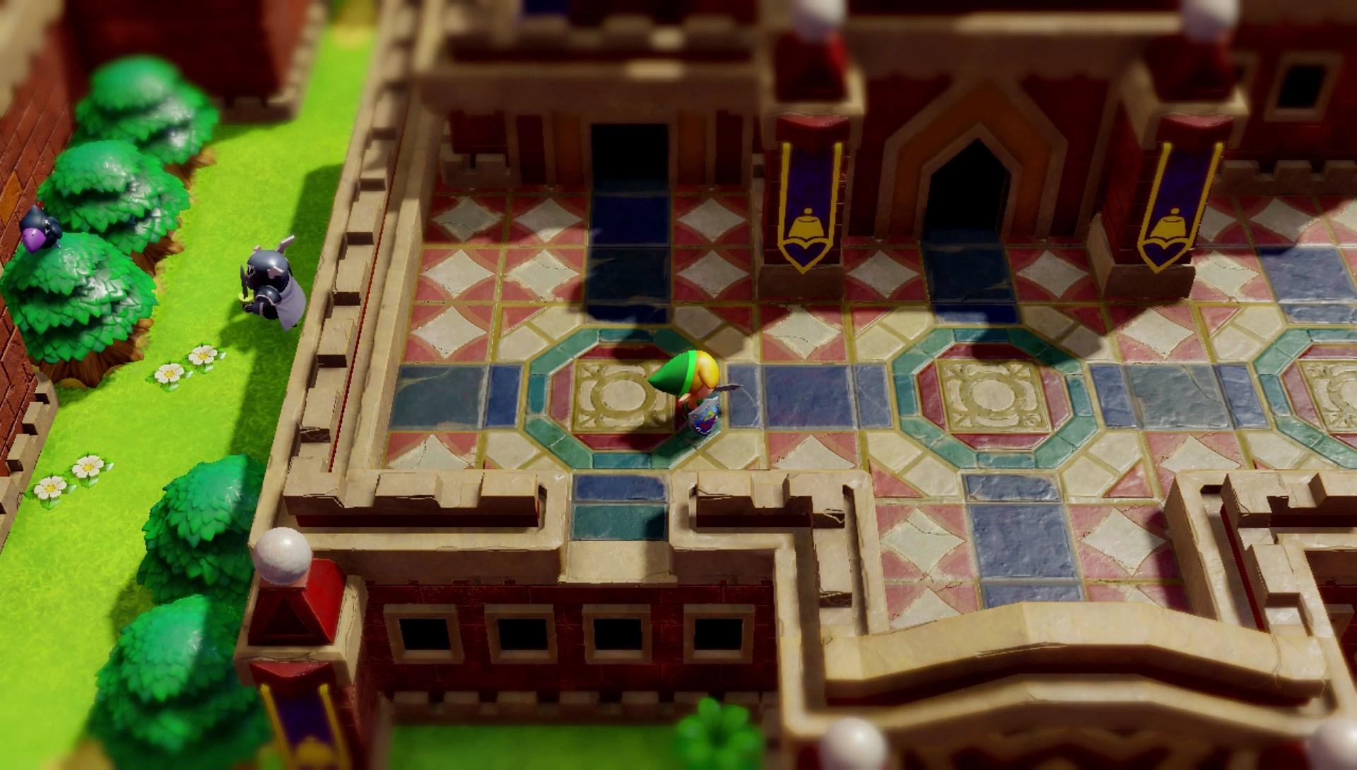 Zelda Link S Awakening Game Review The Washington Post