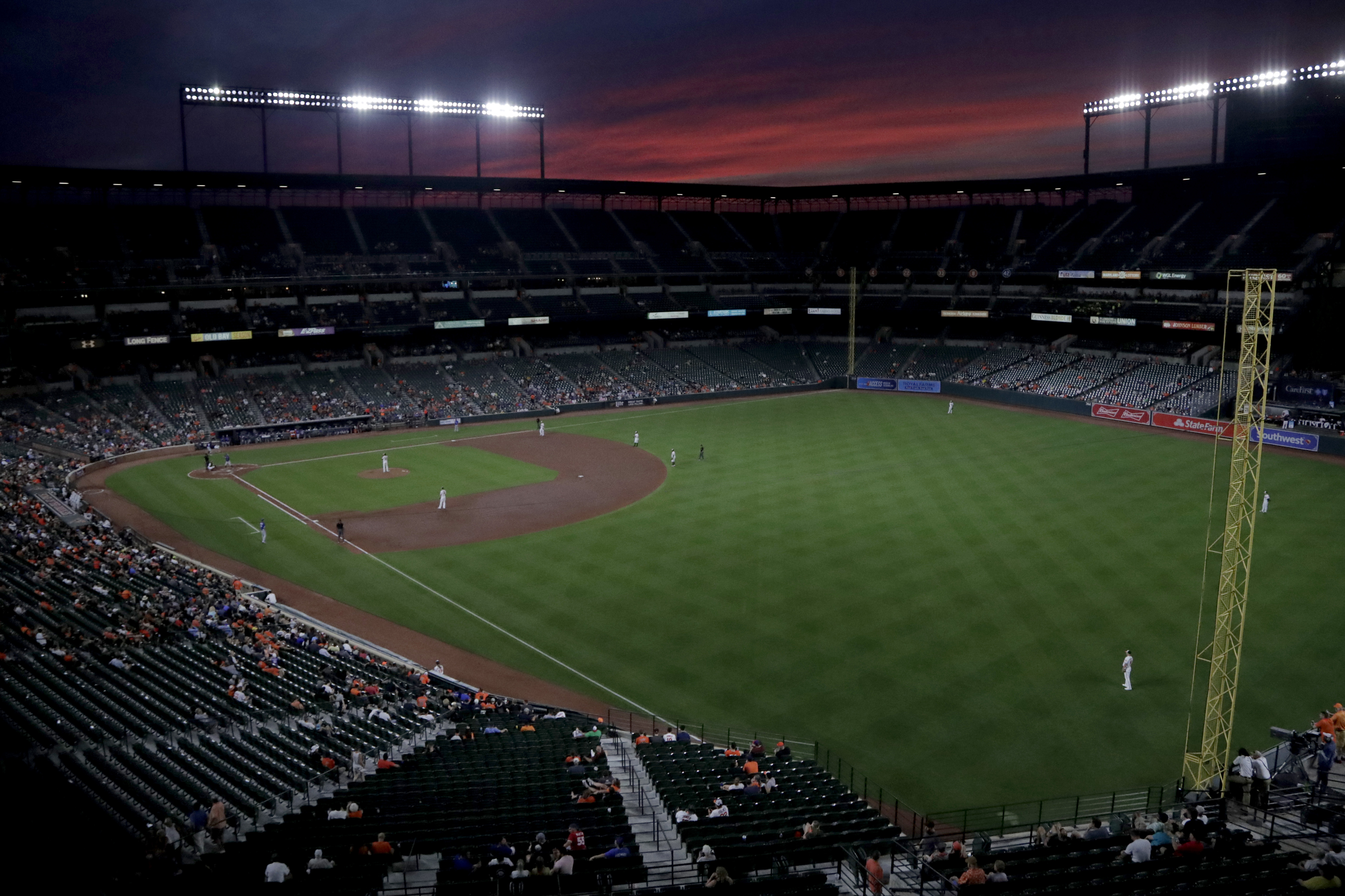 Orioles Home Schedule 2020.Trump Banner At Baltimore Orioles Game Fans Escorted Out Of