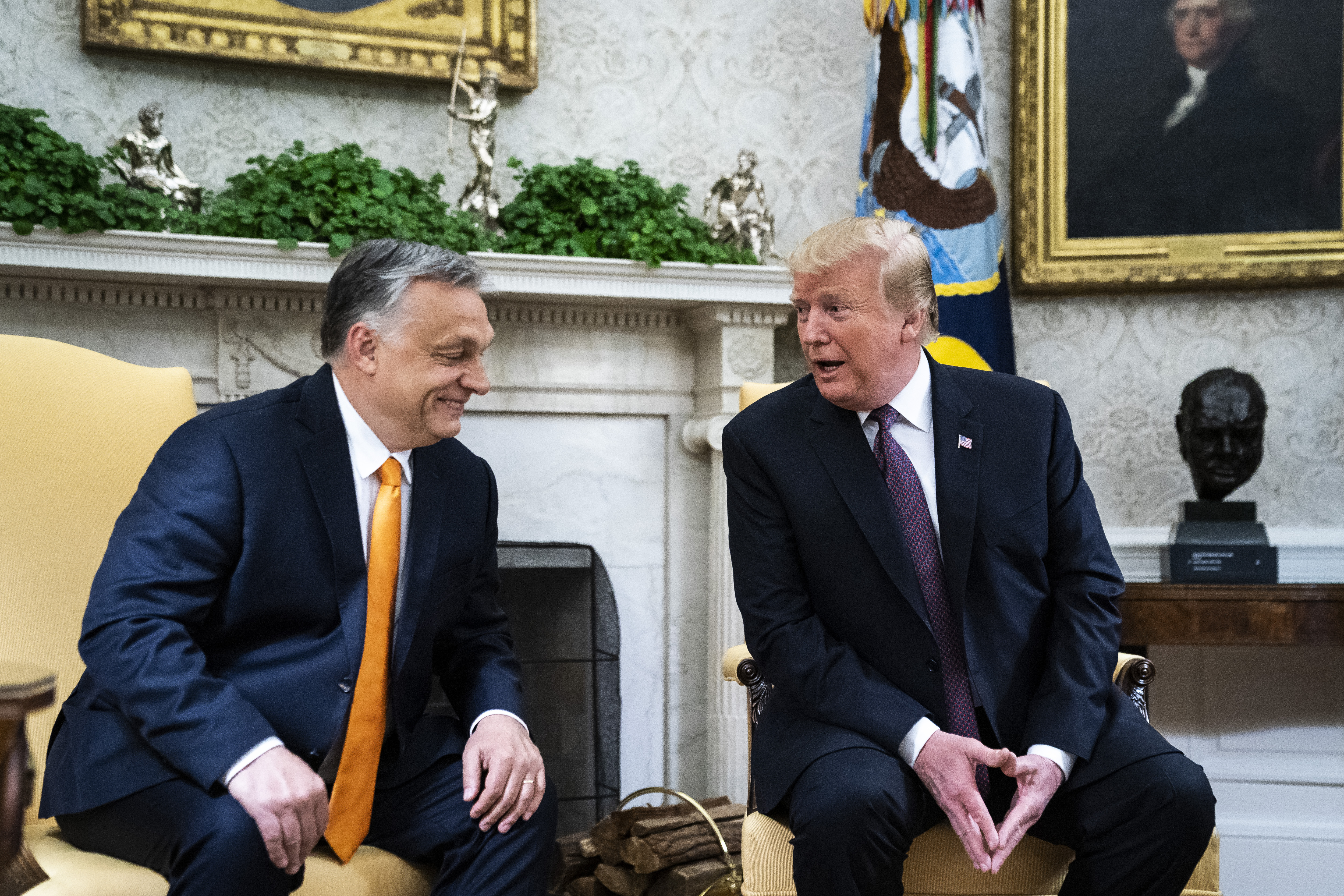 Admirable May 13 Trump Says Hungarys Orban Is A Little Bit Controversial Like Me Short Links Chair Design For Home Short Linksinfo