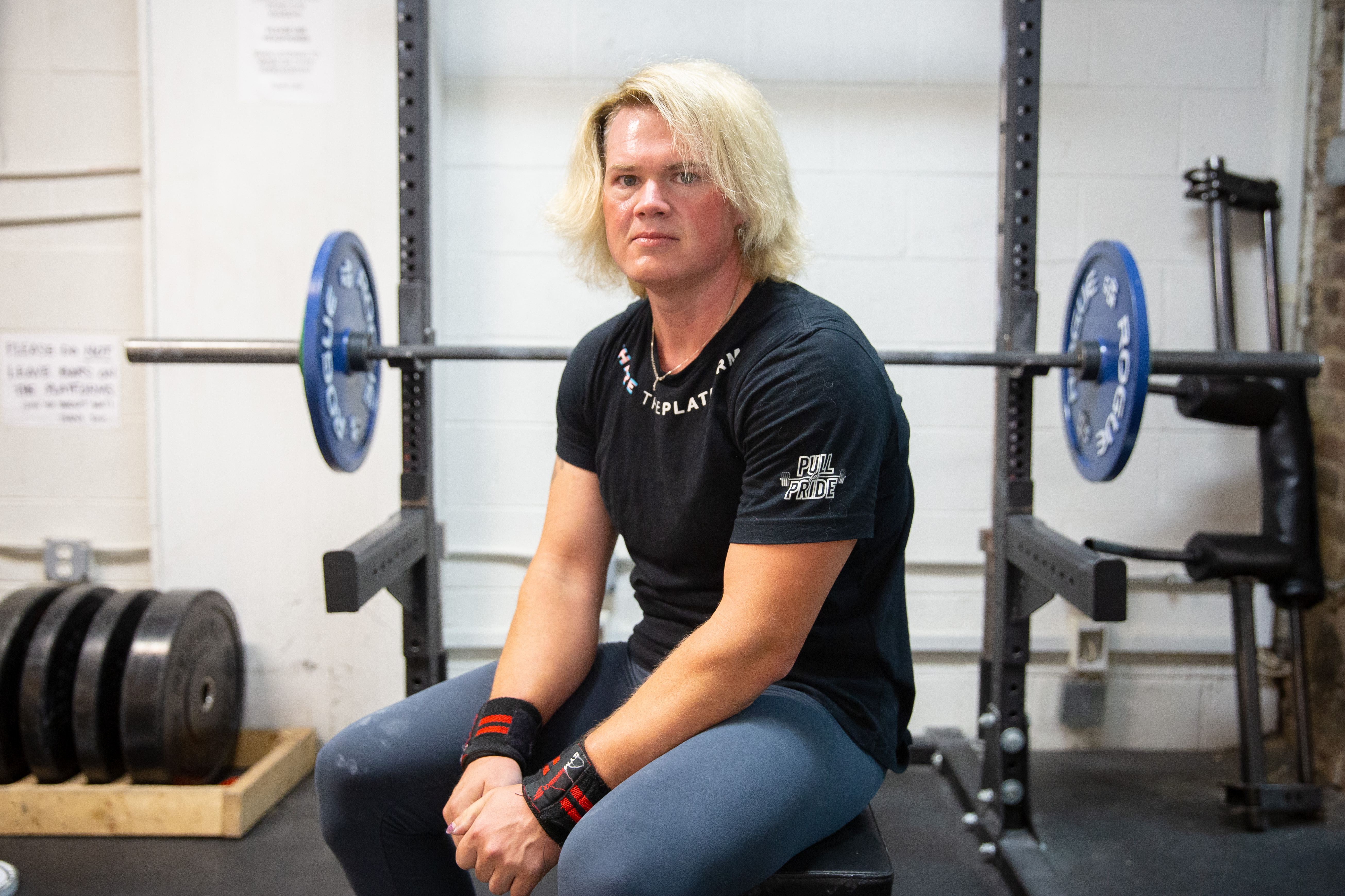 Transgender powerlifter Mary Gregory stripped of world