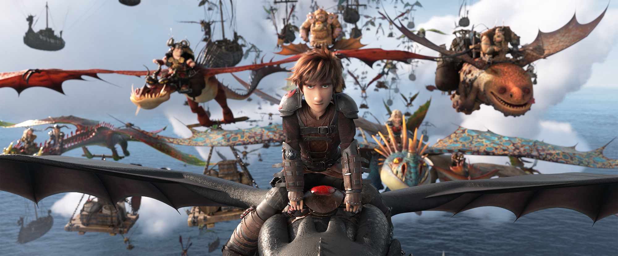 The Hidden World' threequel movie review: Too much dragon, not