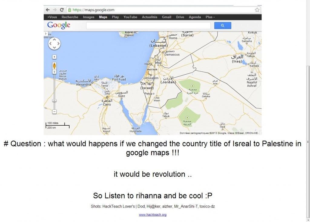 ers deface Google Palestine, object to Google Maps ... on map of israel, google earth israel, bible map judah and israel, harpercollins israel, kibbutz israel, youtube israel, azotus israel, world map israel, mapquest israel, driving directions in israel, fotos de israel, we love israel,