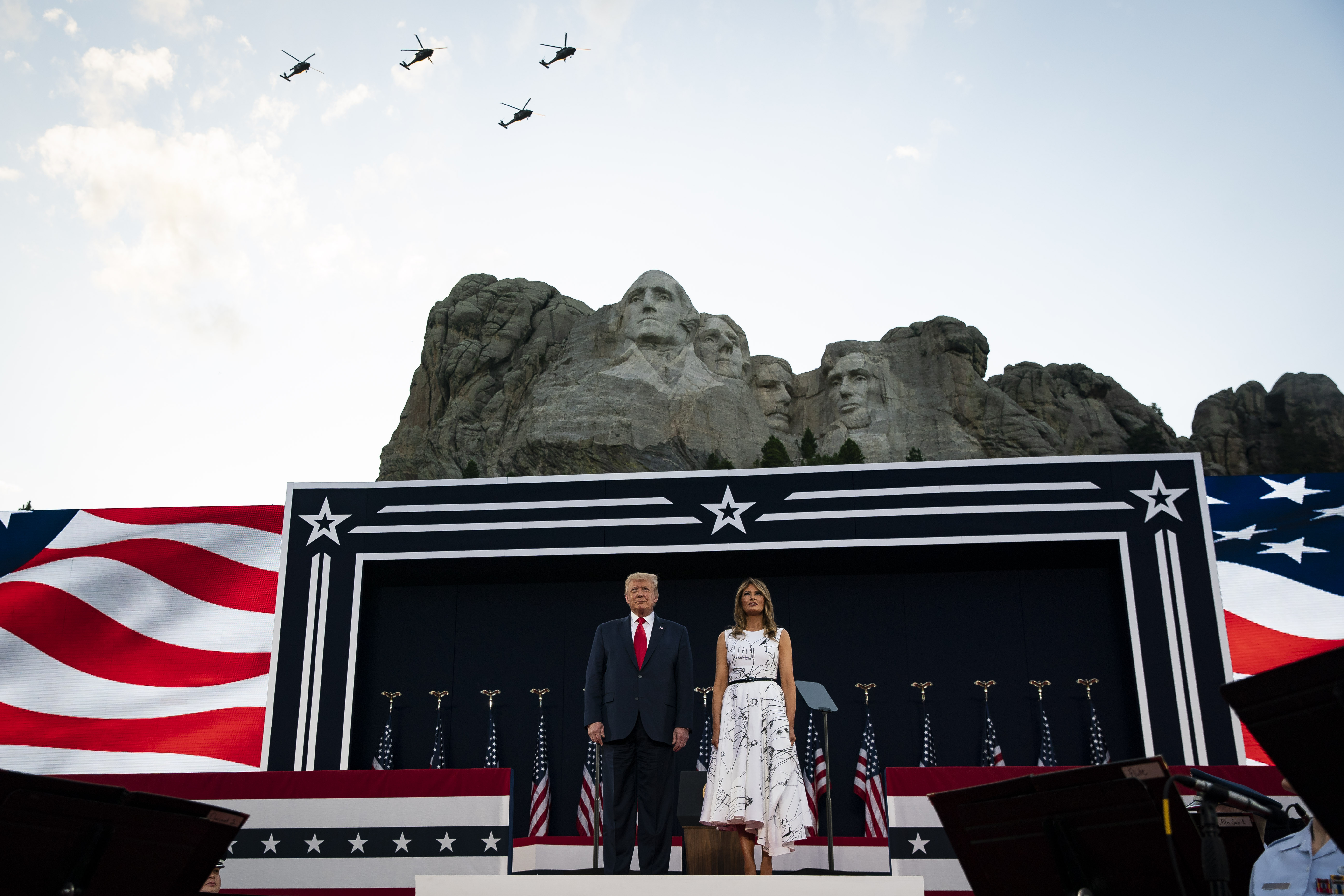 Trump Denies That White House Asked About Adding Him To Mount Rushmore The Washington Post