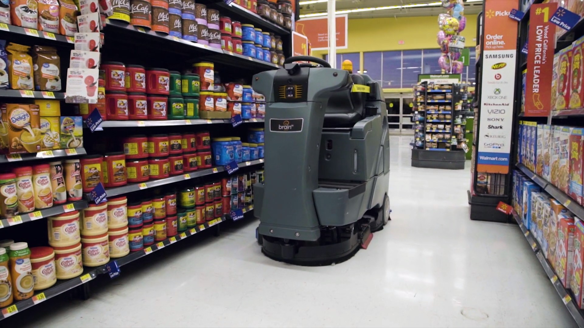 Walmart S Latest Hire Robotic Janitors That Clean Floors And