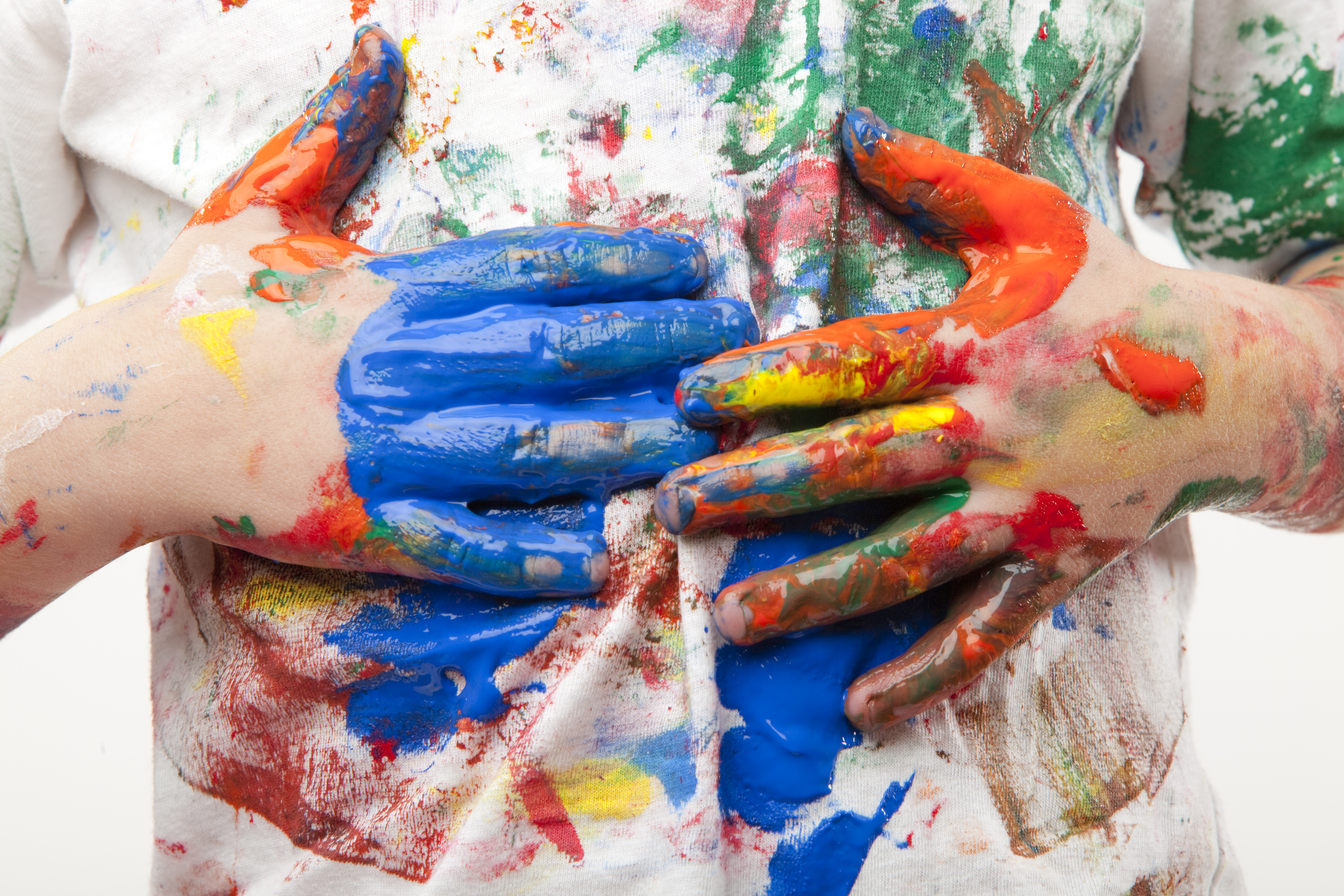 Paint, crayon, slime and other kid messes — and how to clean