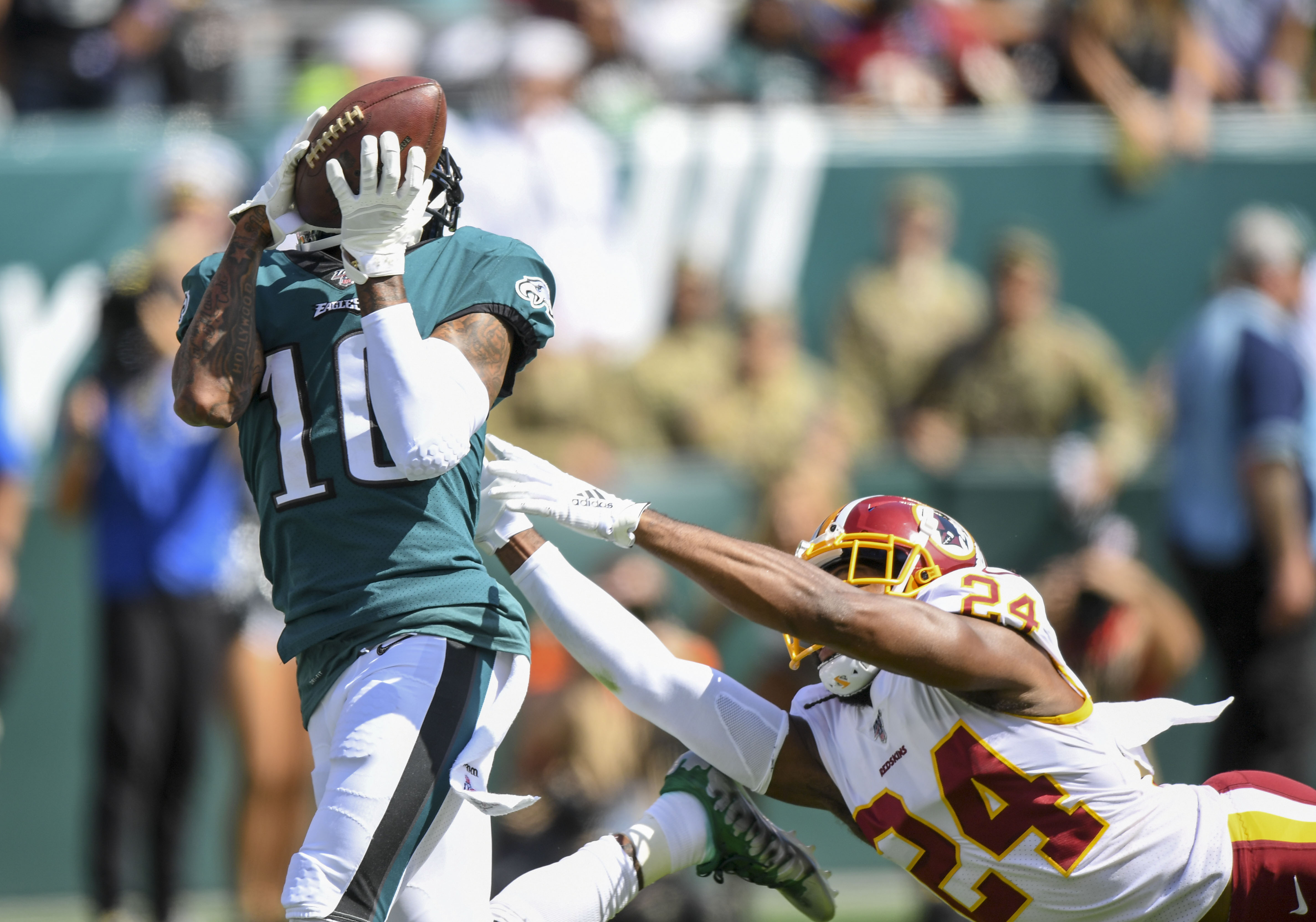 Redskins Eagles Highlights Desean Jackson S Tds Terry