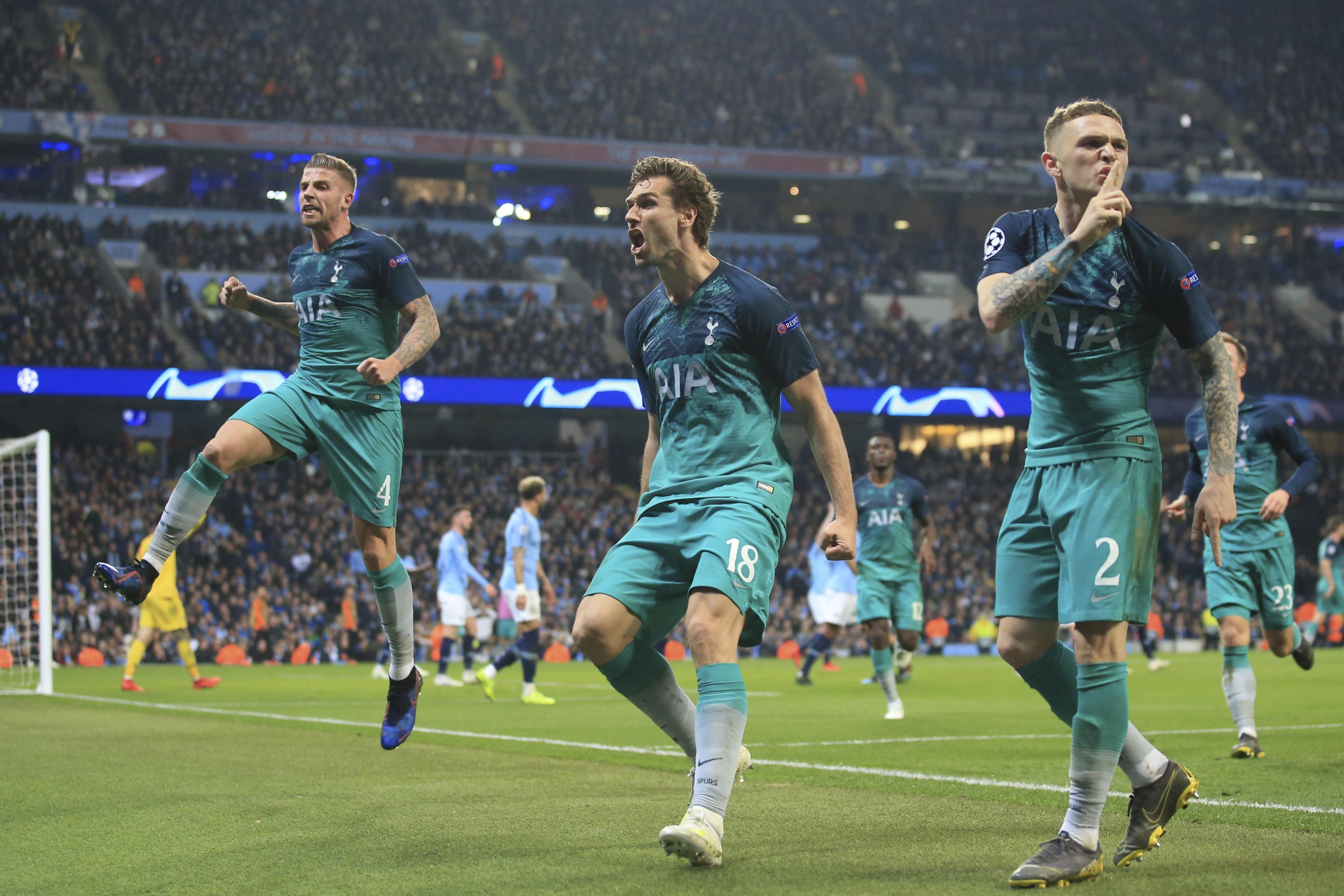 Var Decision Lifts Tottenham Past Man City In Champions League Quarterfinal The Washington Post