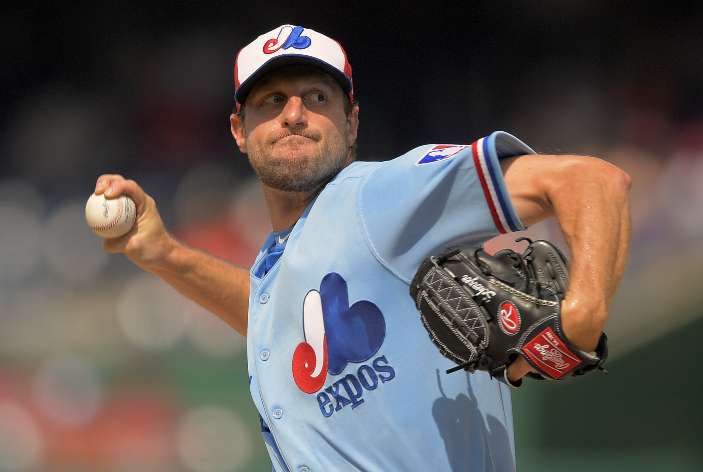 cheap for discount a6e85 14217 Nationals wear Montreal Expos throwbacks for first time ...