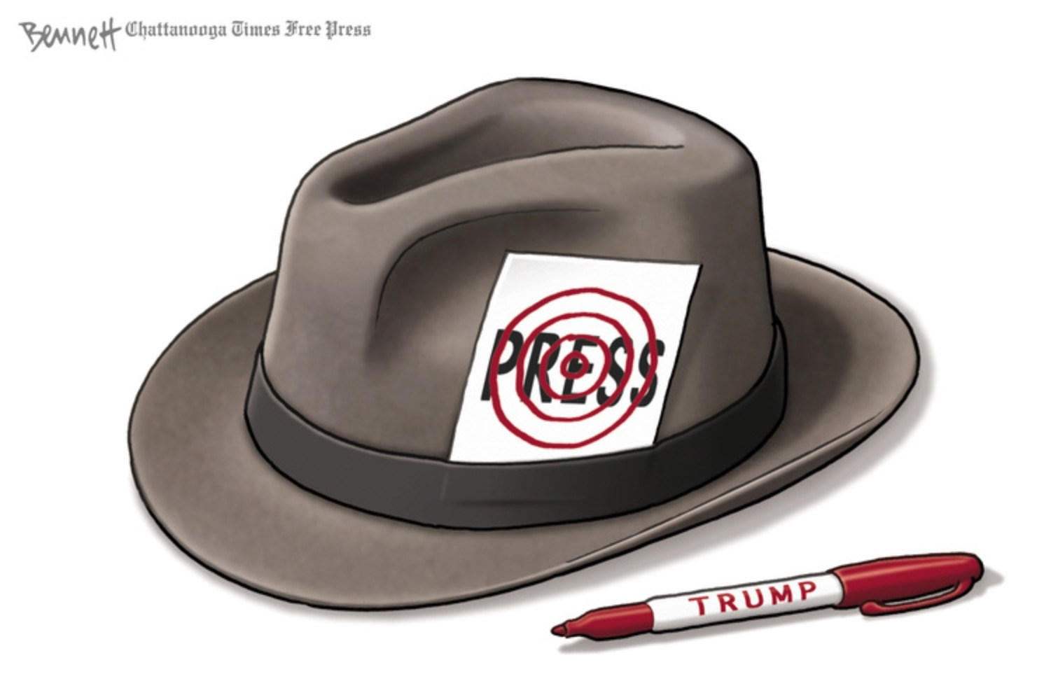 How cartoonists are joining today's #FreePress campaign