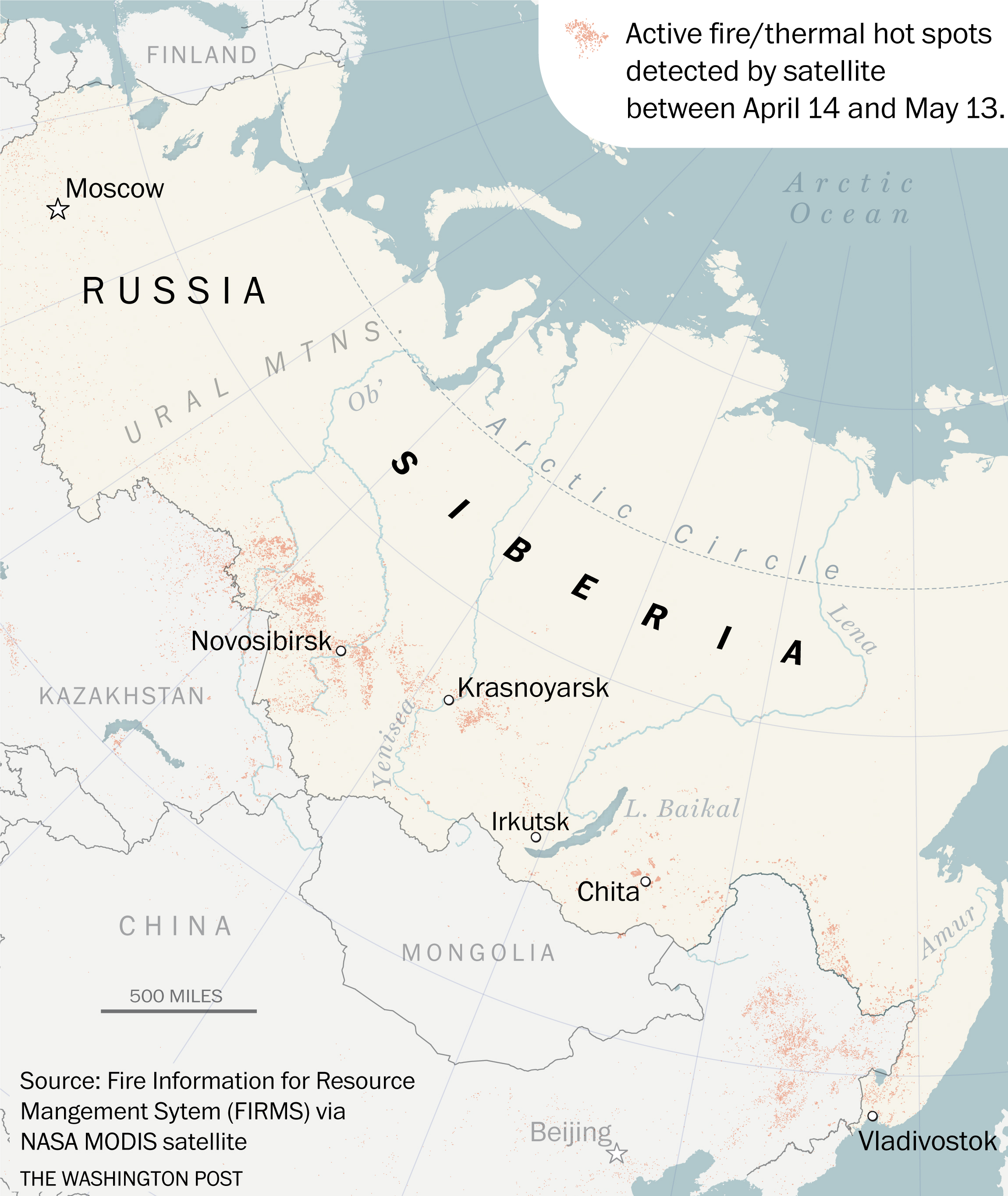 Picture of: Russia On Alert As Siberia S Wildfires Start Big And Early The Washington Post
