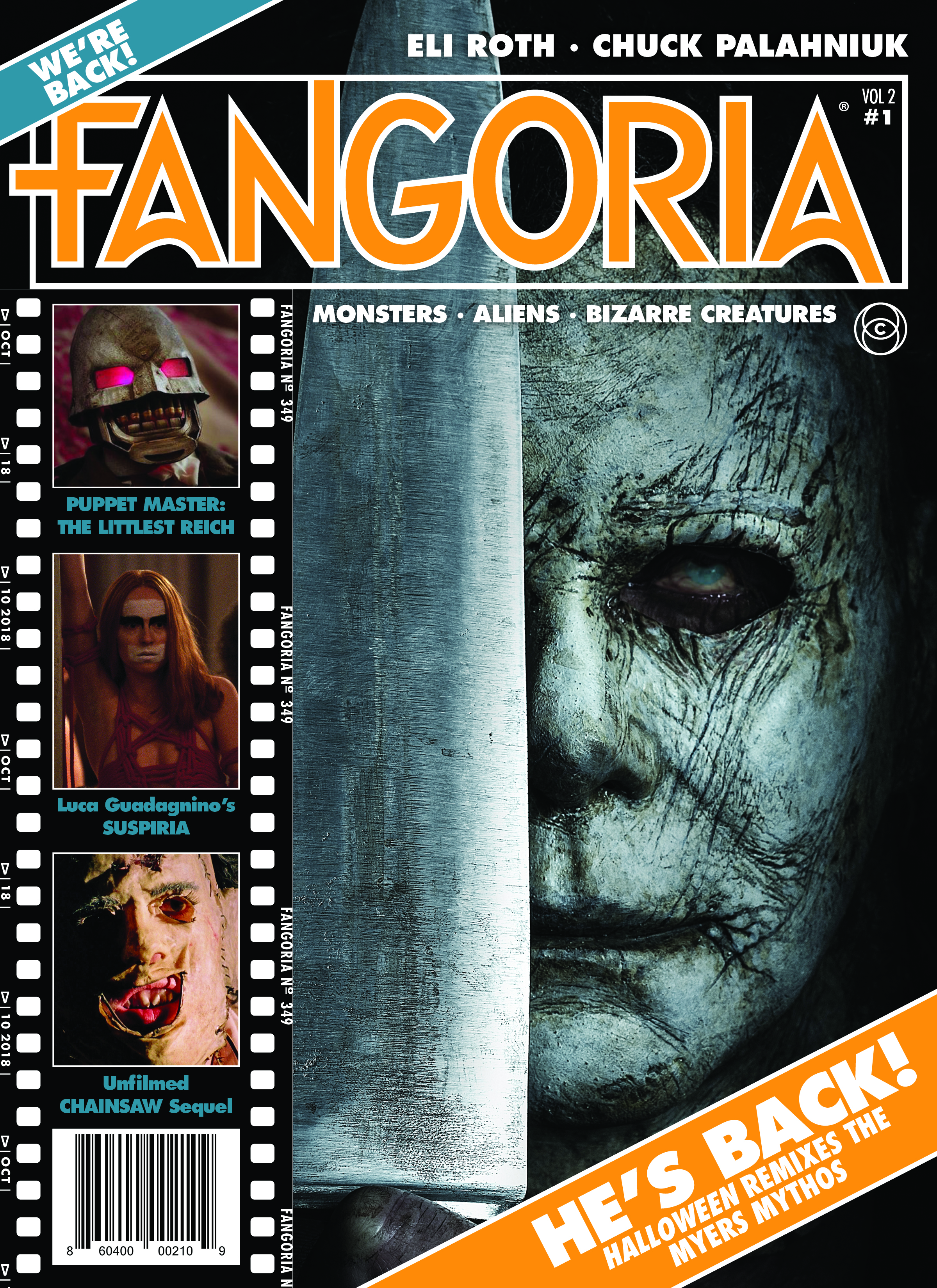 Fangoria, the fabled horror magazine, has risen from the