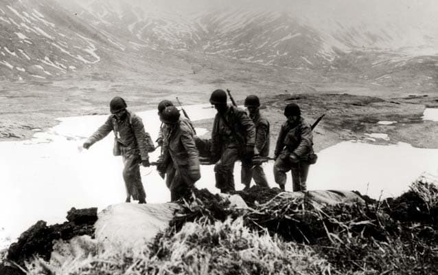 Battle of Attu: 75 years ago, all but 28 Japanese soldiers died in brutal  conflict - The Washington Post