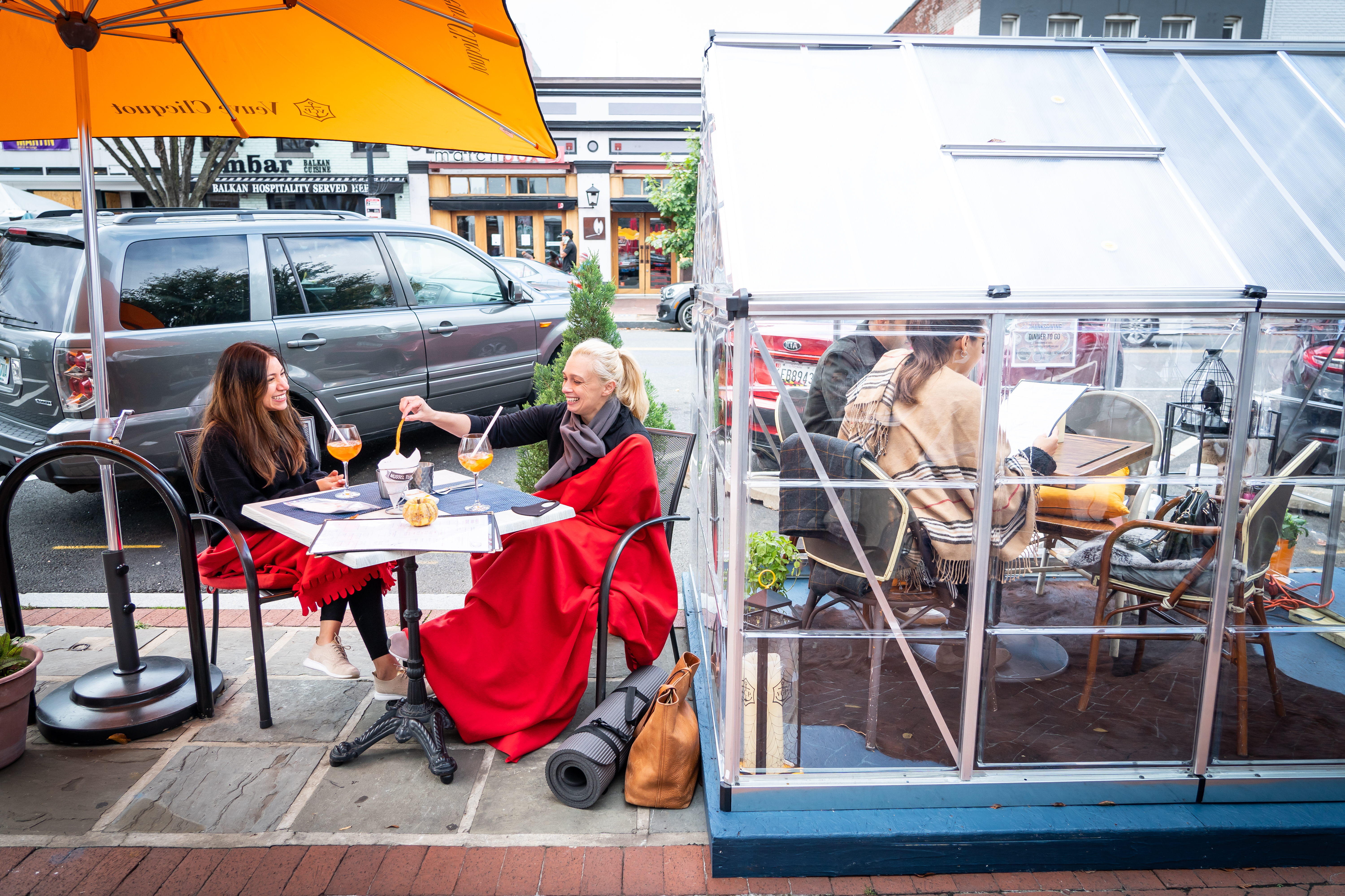 Outdoor Dining In The Cold Advice From Alaska Scandinavia Even The South Pole The Washington Post