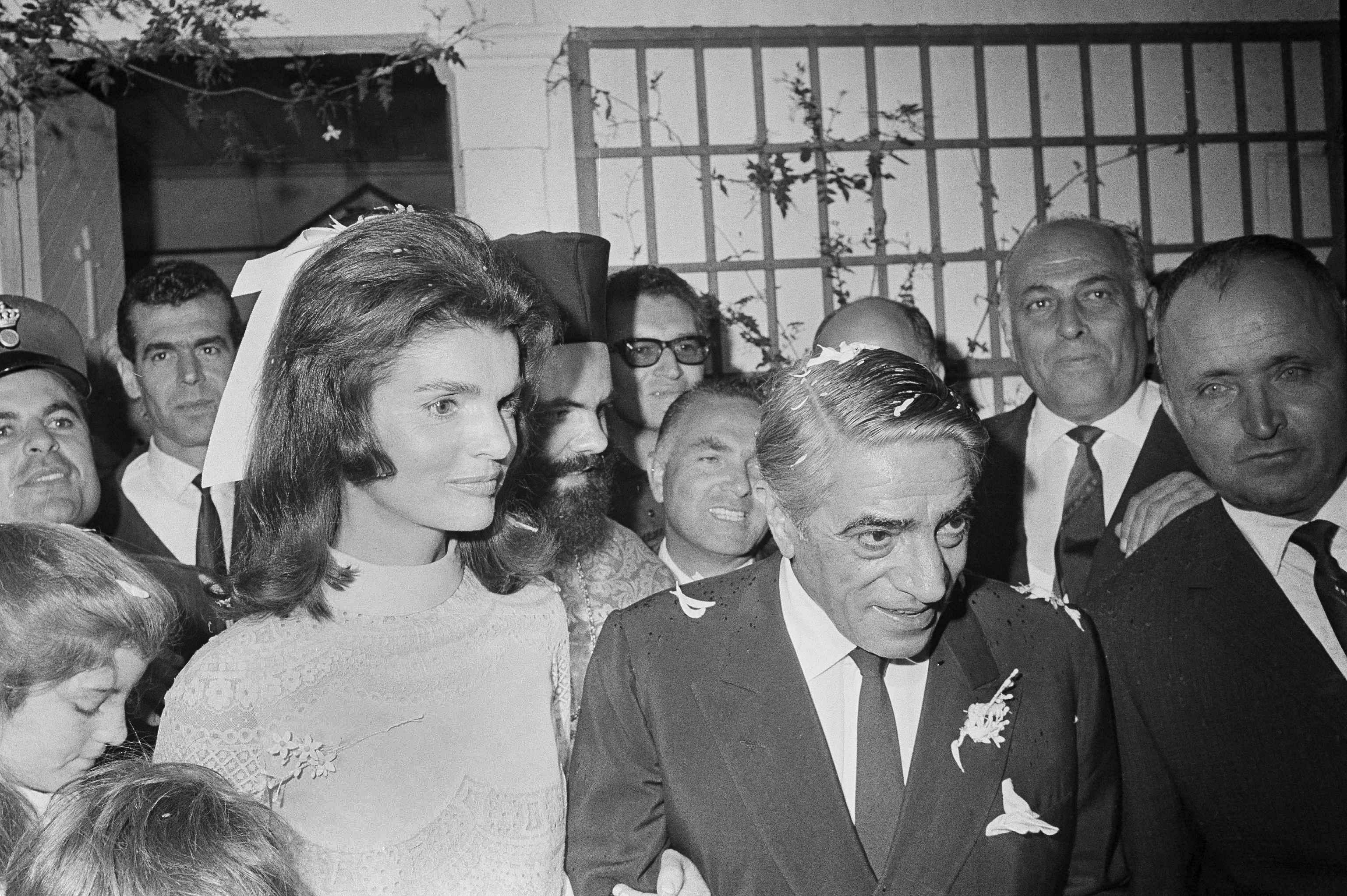 Jackie Kennedy: JFK's widow married Aristotle Onassis 50