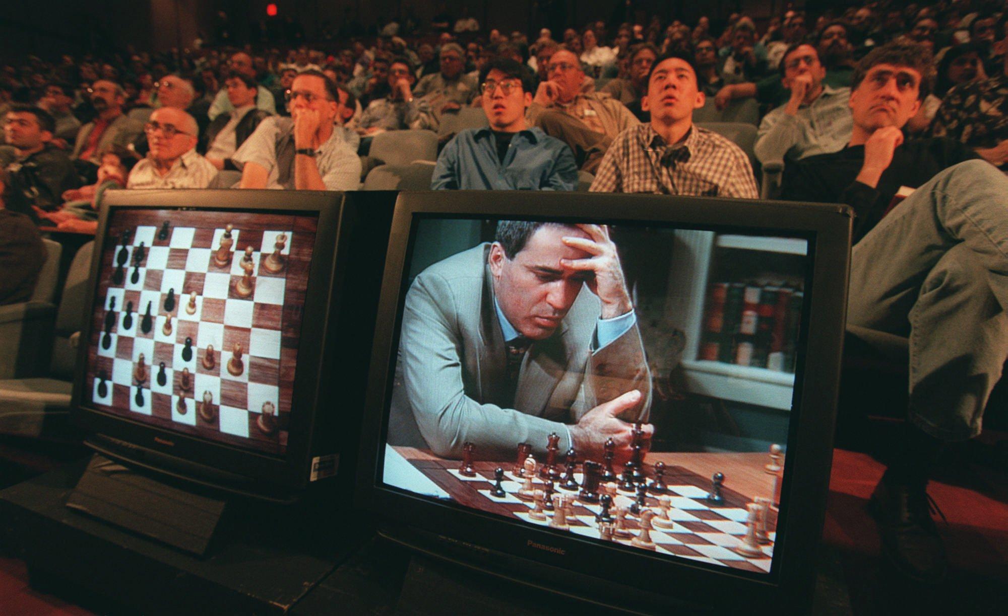 Gary Kasparov vs. IBM's Deep Blue: Historic chess match before 'Queen's Gambit' chess boom - The Washington Post