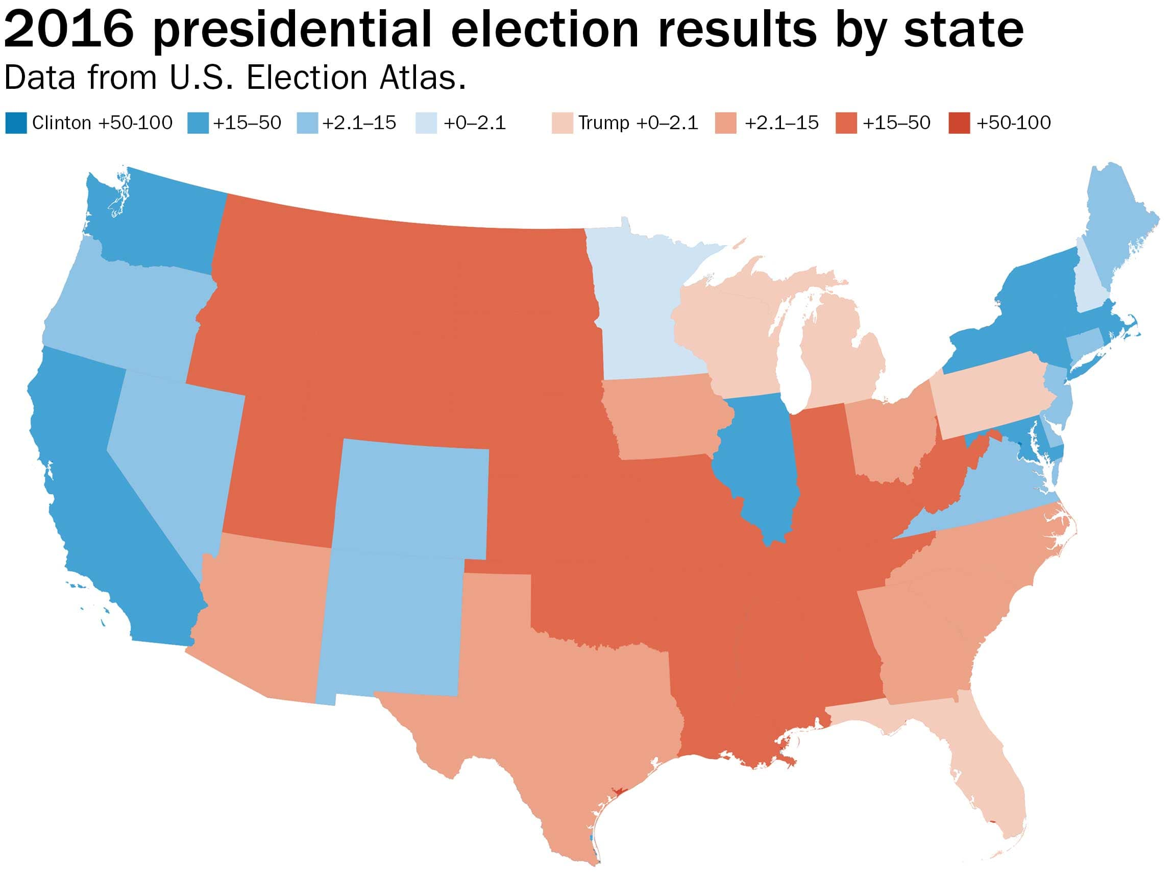 Presenting the least misleading map of the 2016 election ...