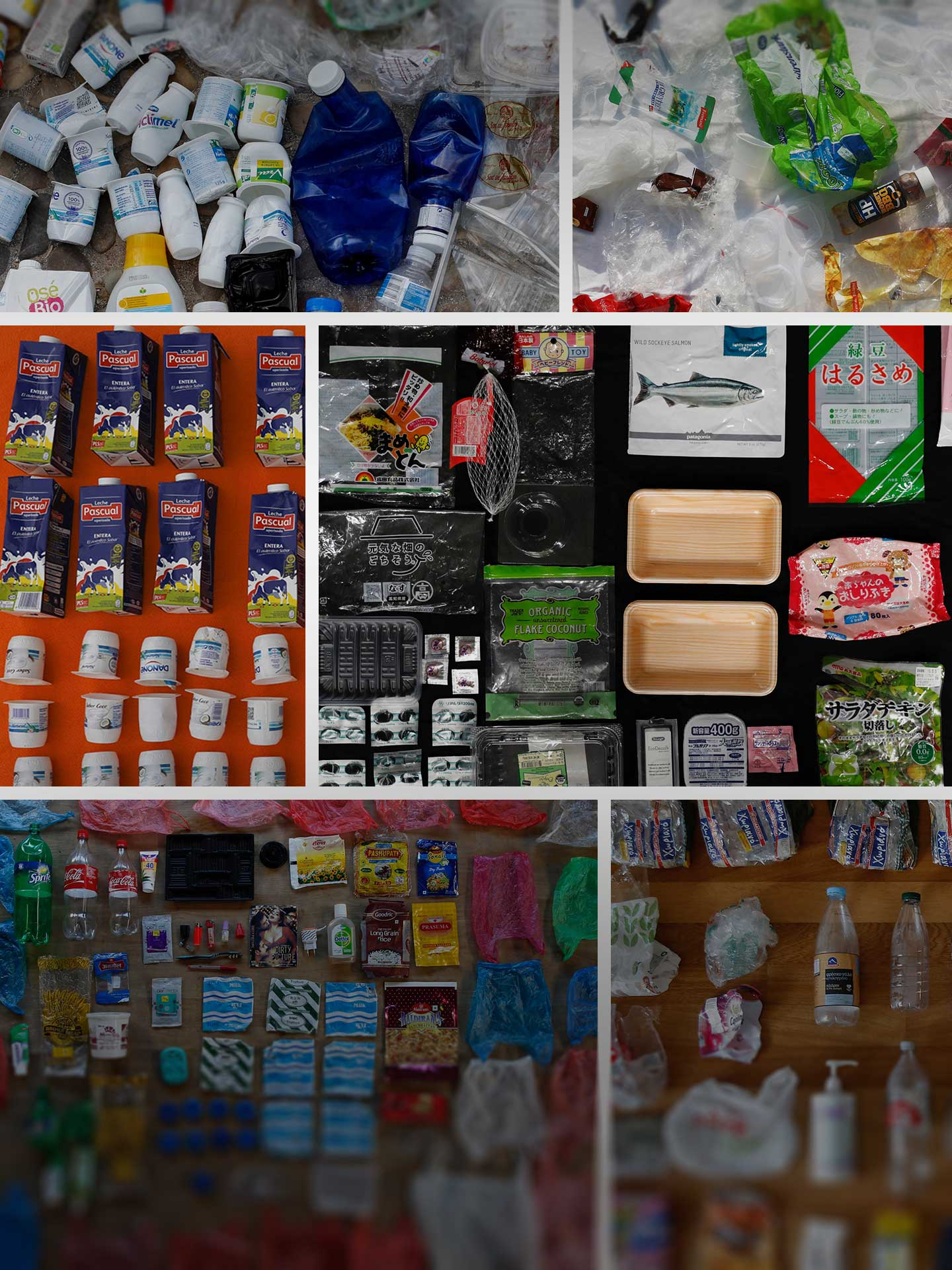 Faced With Shops Full Of Food And Other Goods Swathed In Plastic Families Across The World Are Trying To Reduce Its Use Recycle Wherever Possible
