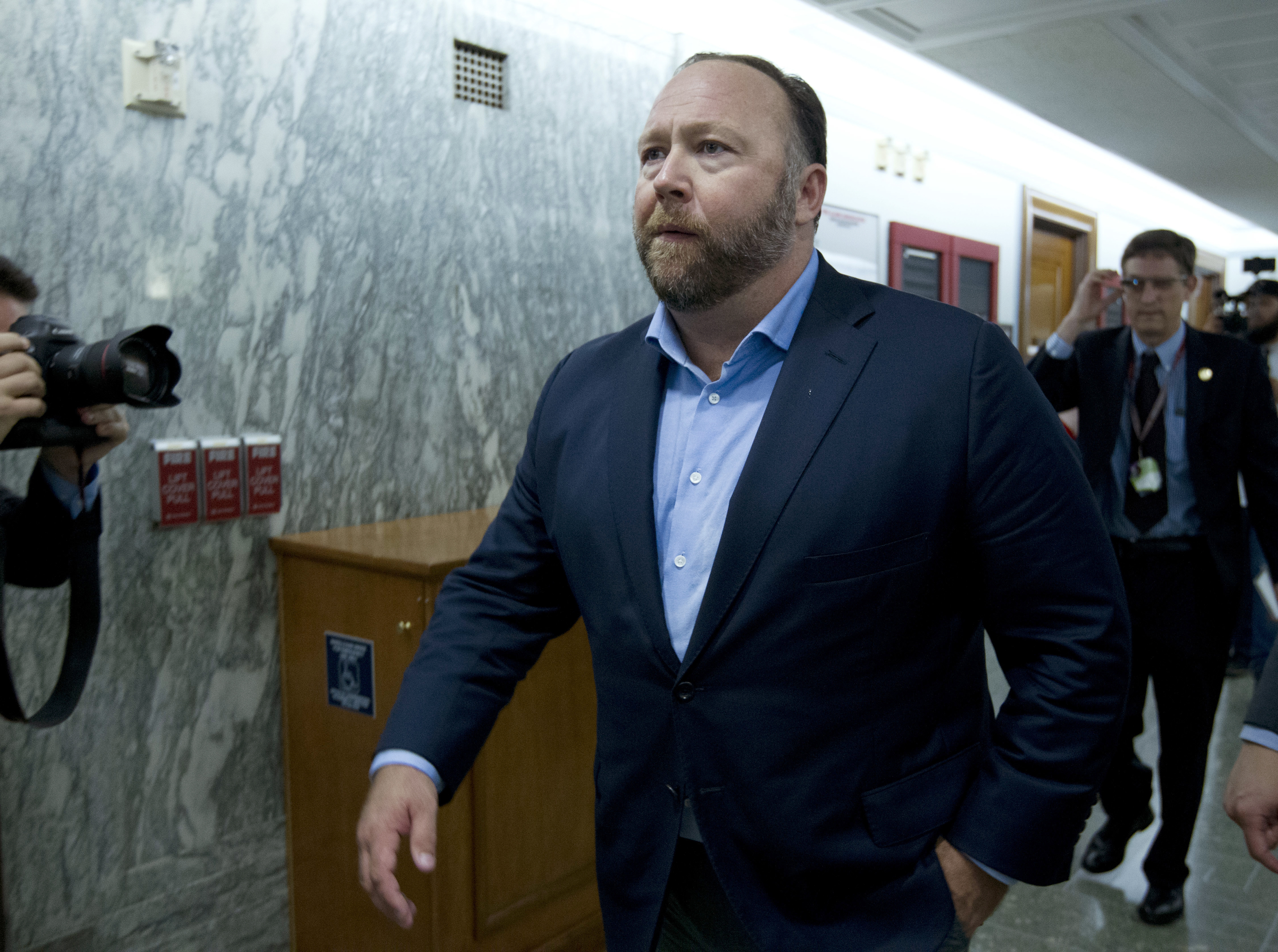 Alex Jones Banned From Facebook His Videos Are Still There And So Are His Followers The Washington Post
