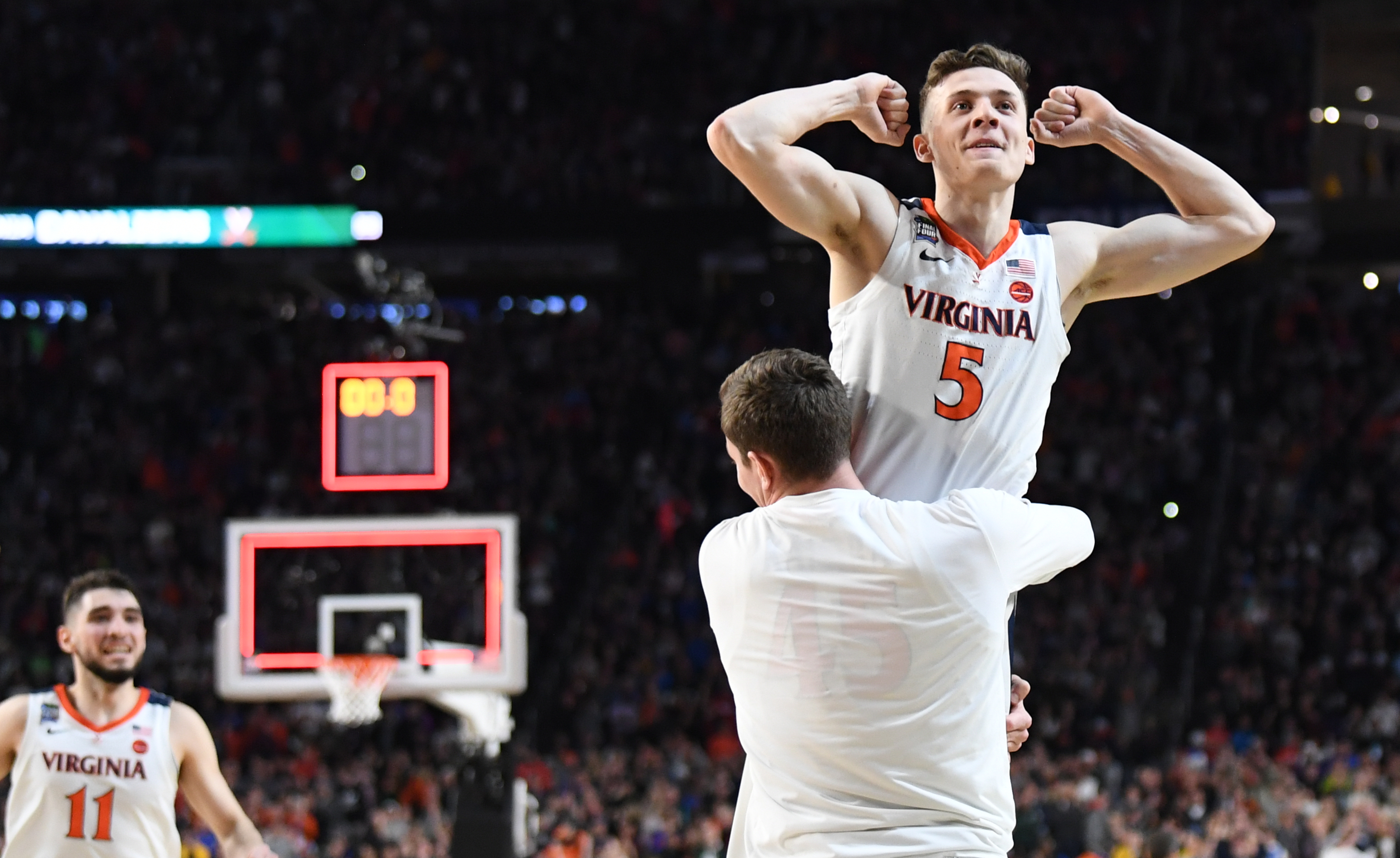 Virginia Beats Auburn In Final Four On Kyle Guy Free Throws