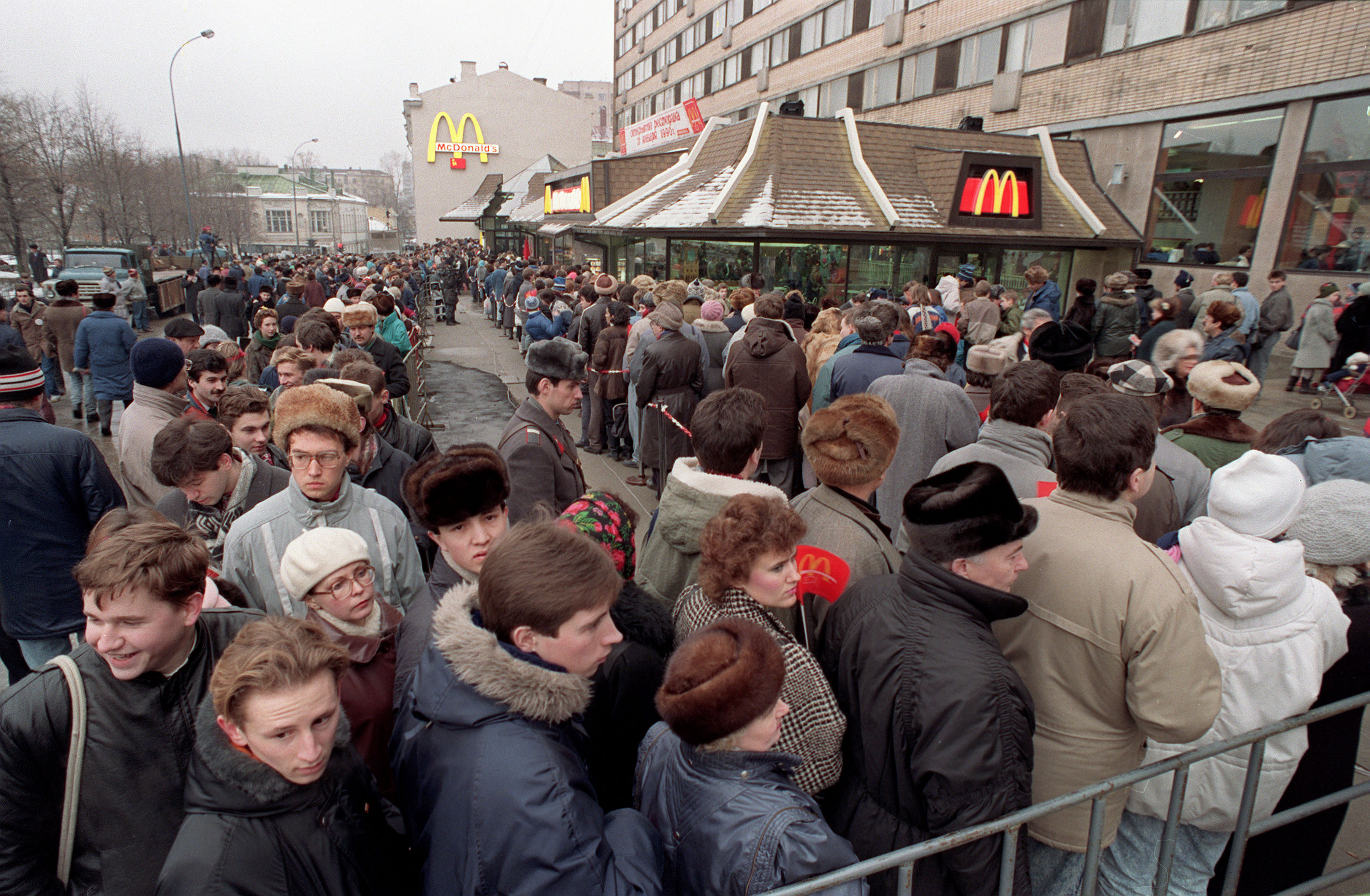 Russia welcomed its first McDonald's 30 years ago - The Washington Post