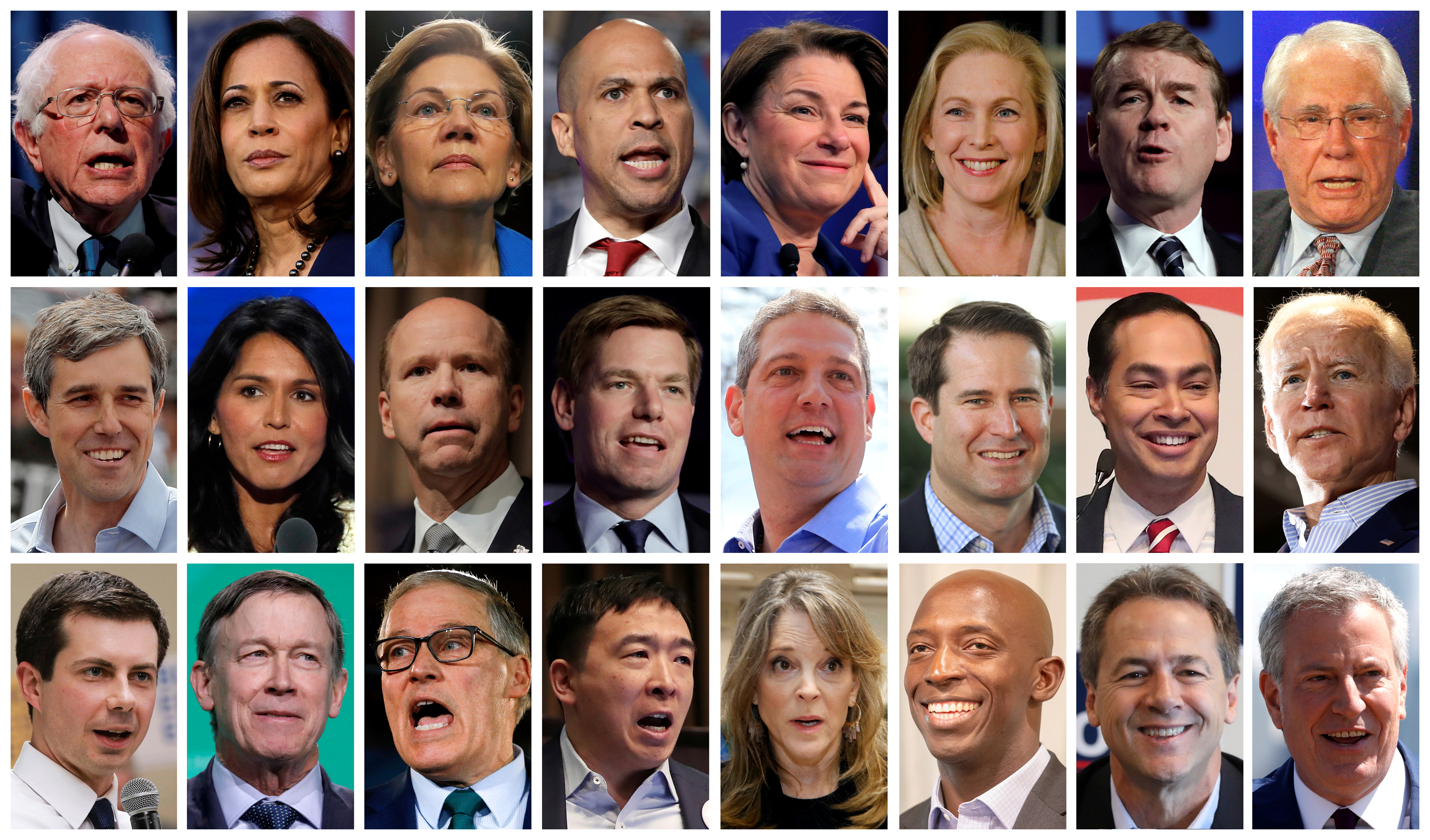 How each 2020 Democratic presidential candidate could win - The Washington  Post
