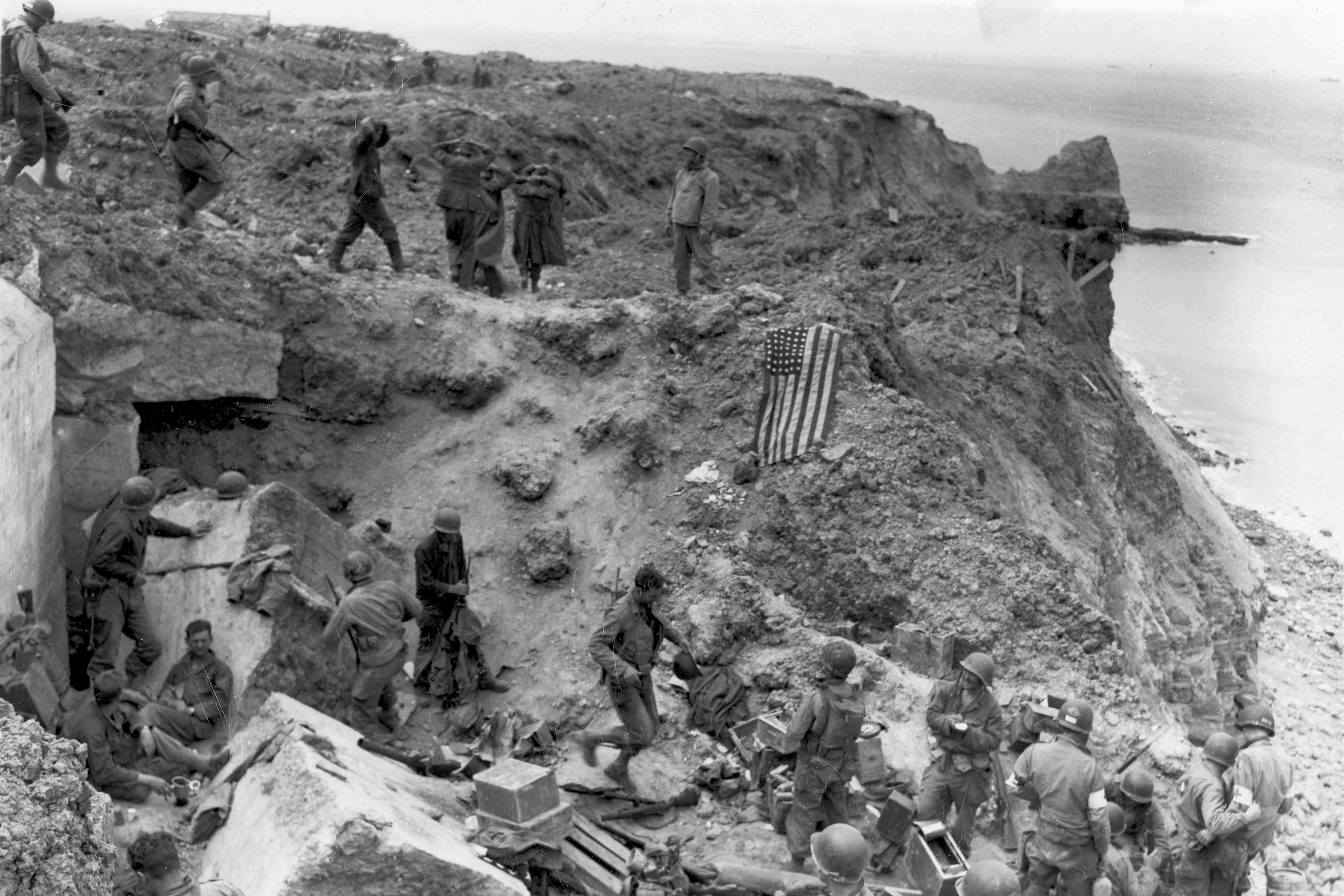 Pointe du Hoc: Was the D-Day assault by Army Rangers during