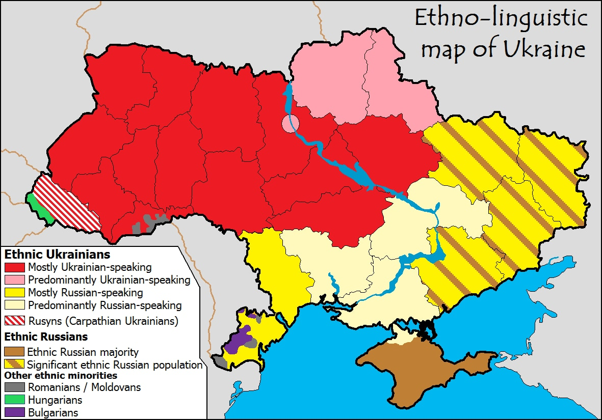 Picture of: This One Map Helps Explain Ukraine S Protests The Washington Post