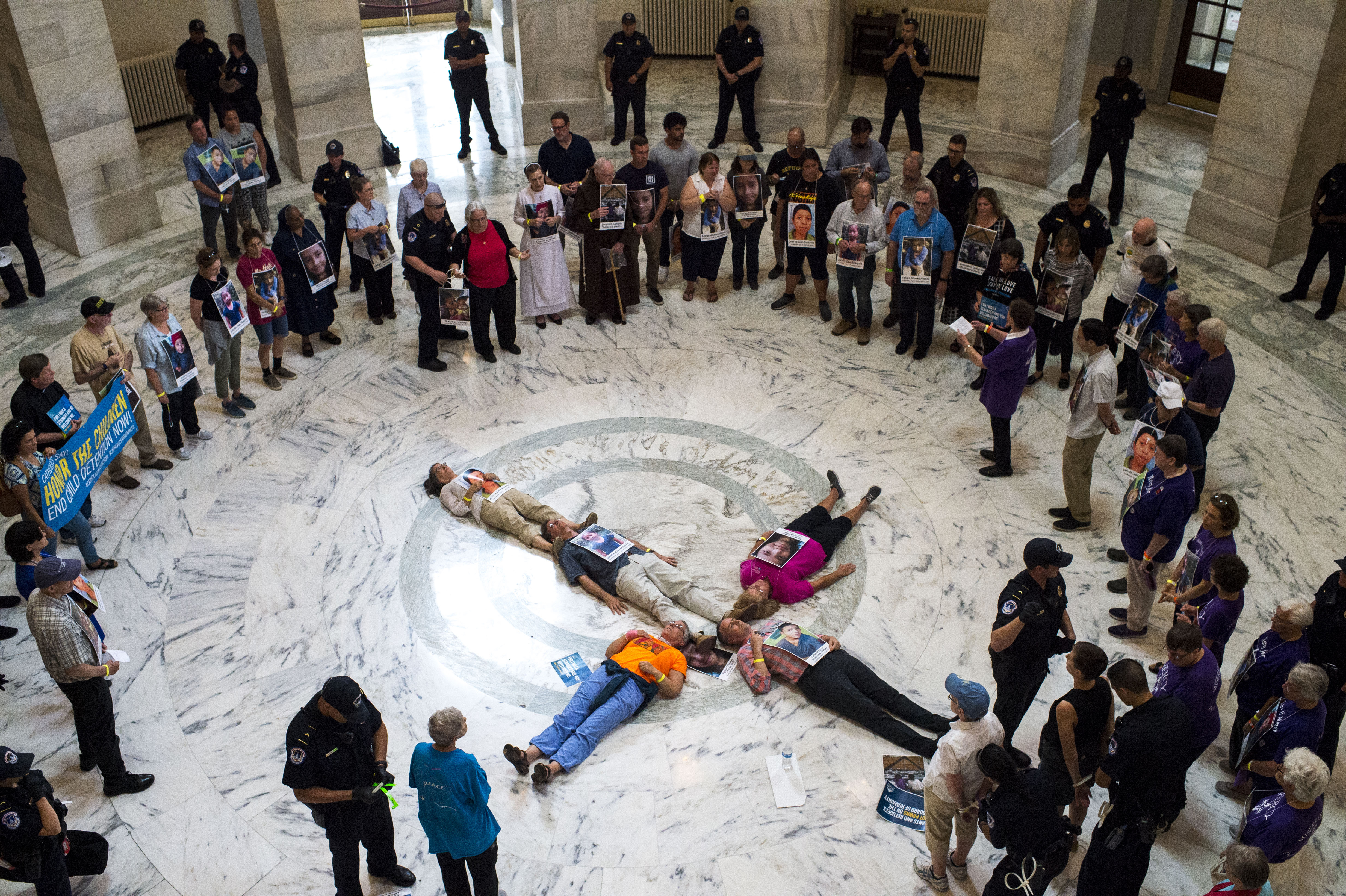 70 Catholics arrested in D.C. protest over Trump immigration policies - The Washington Post