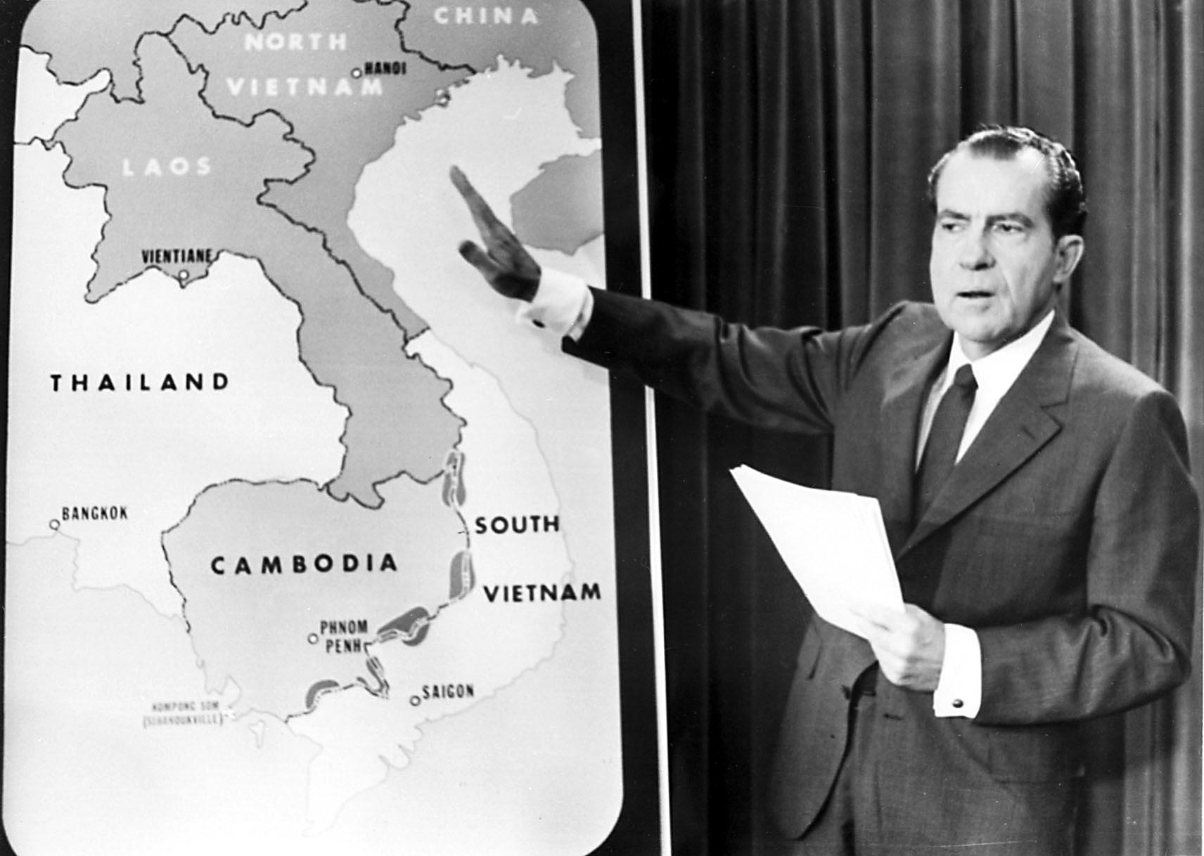 President Nixon's invasion of Cambodia 50 years ago spurred Congress to act  - The Washington Post