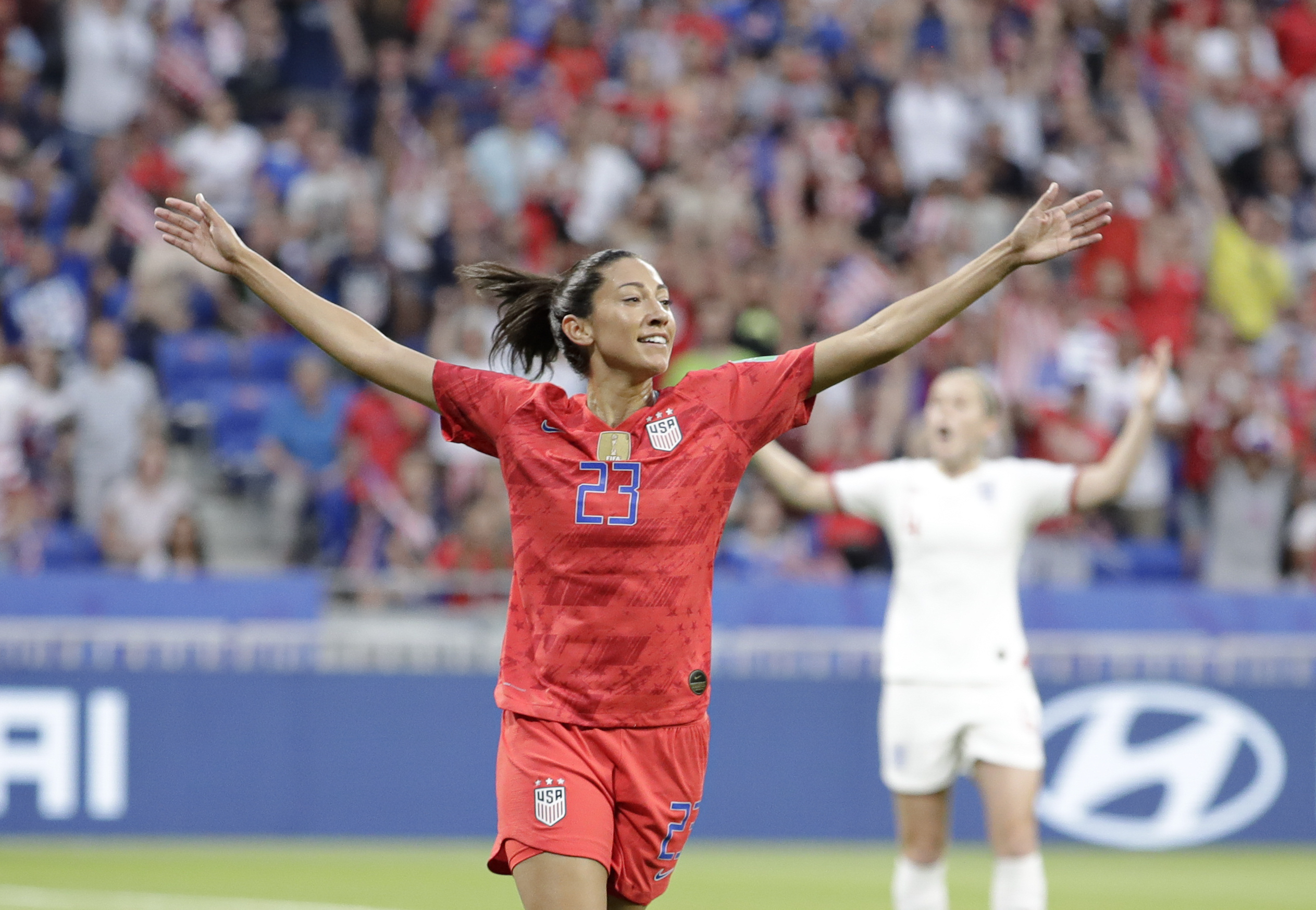 Who is Christen Press, Megan Rapinoe's substitute for the USWNT? - The  Washington Post
