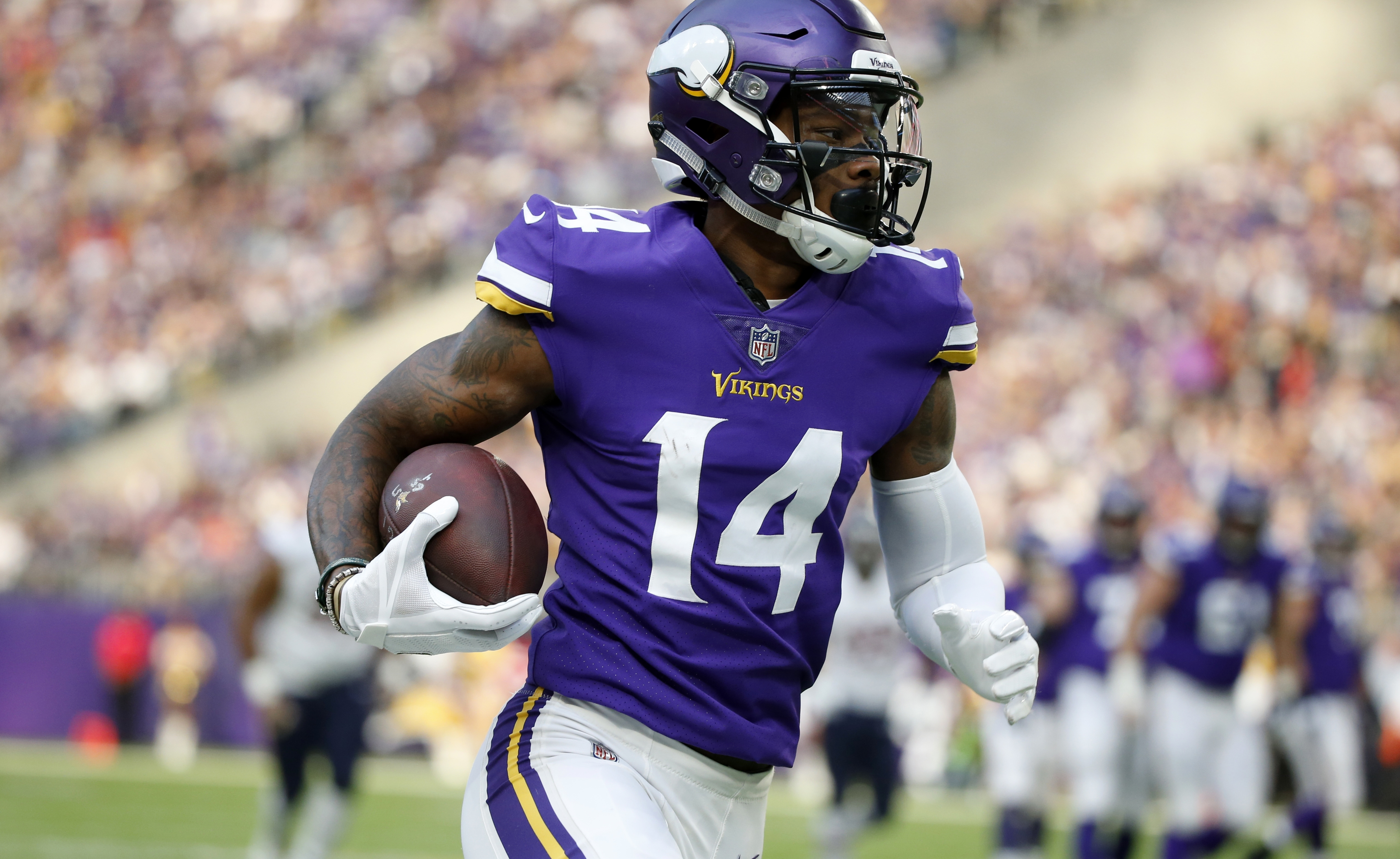 Before Nfl Success With Vikings Stefon Diggs Was Impossible To Stop In High School The Washington Post