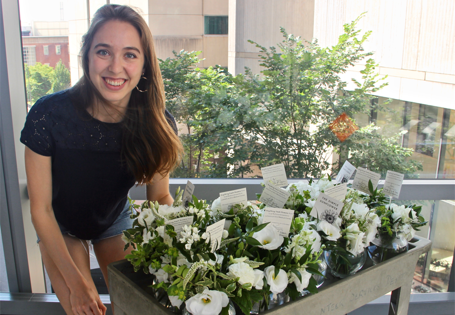 For years, this doctor has showed up after strangers' weddings and — with  permission — brought flowers back to her patients - The Washington Post