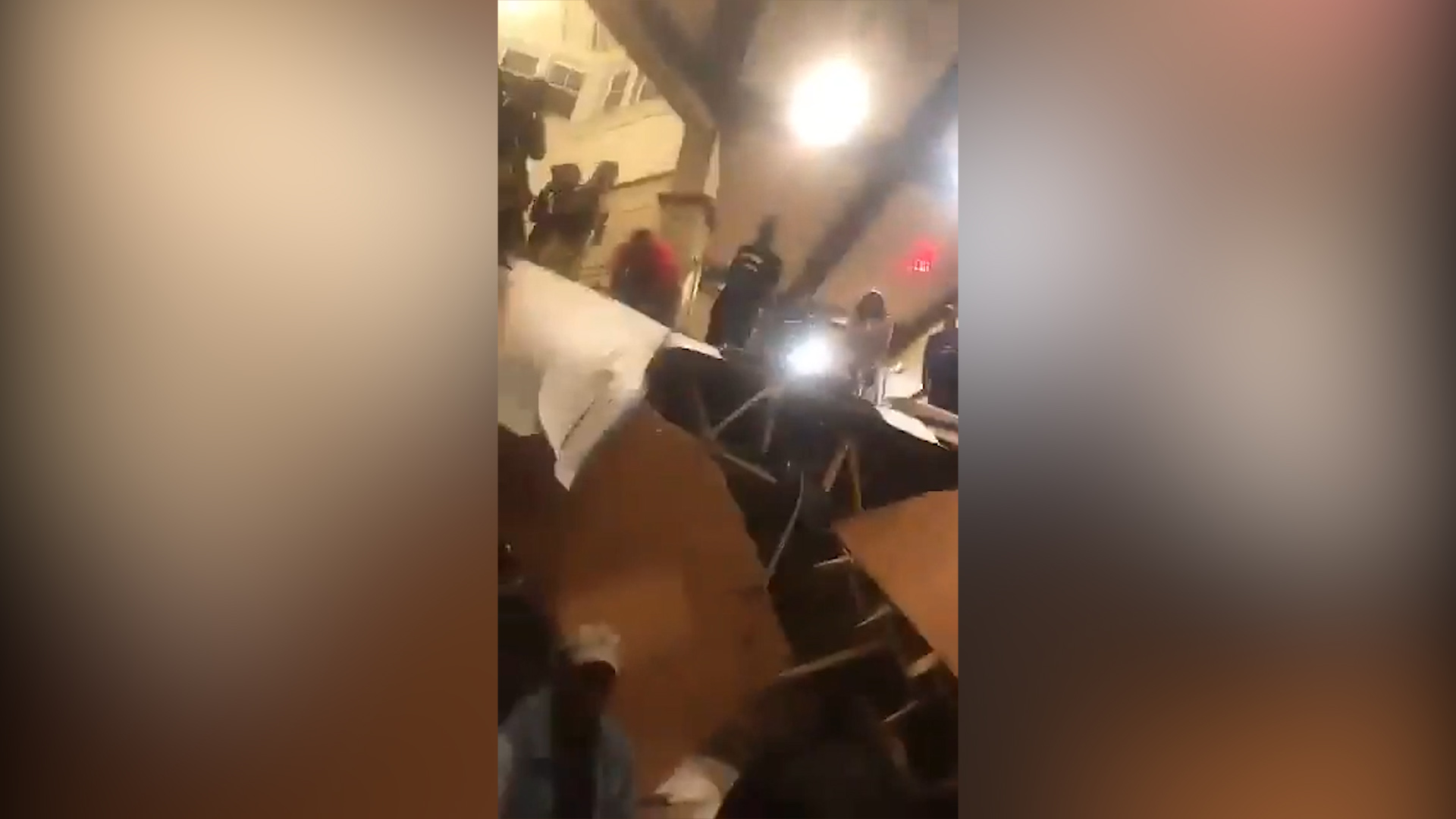 Floor collapses during party in South Carolina
