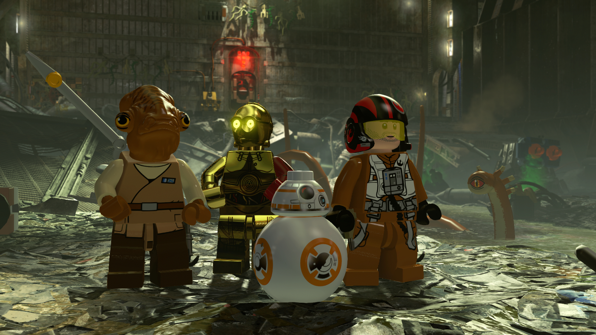 Lego Star Wars The Force Awakens Has Just Enough Comedy To Get