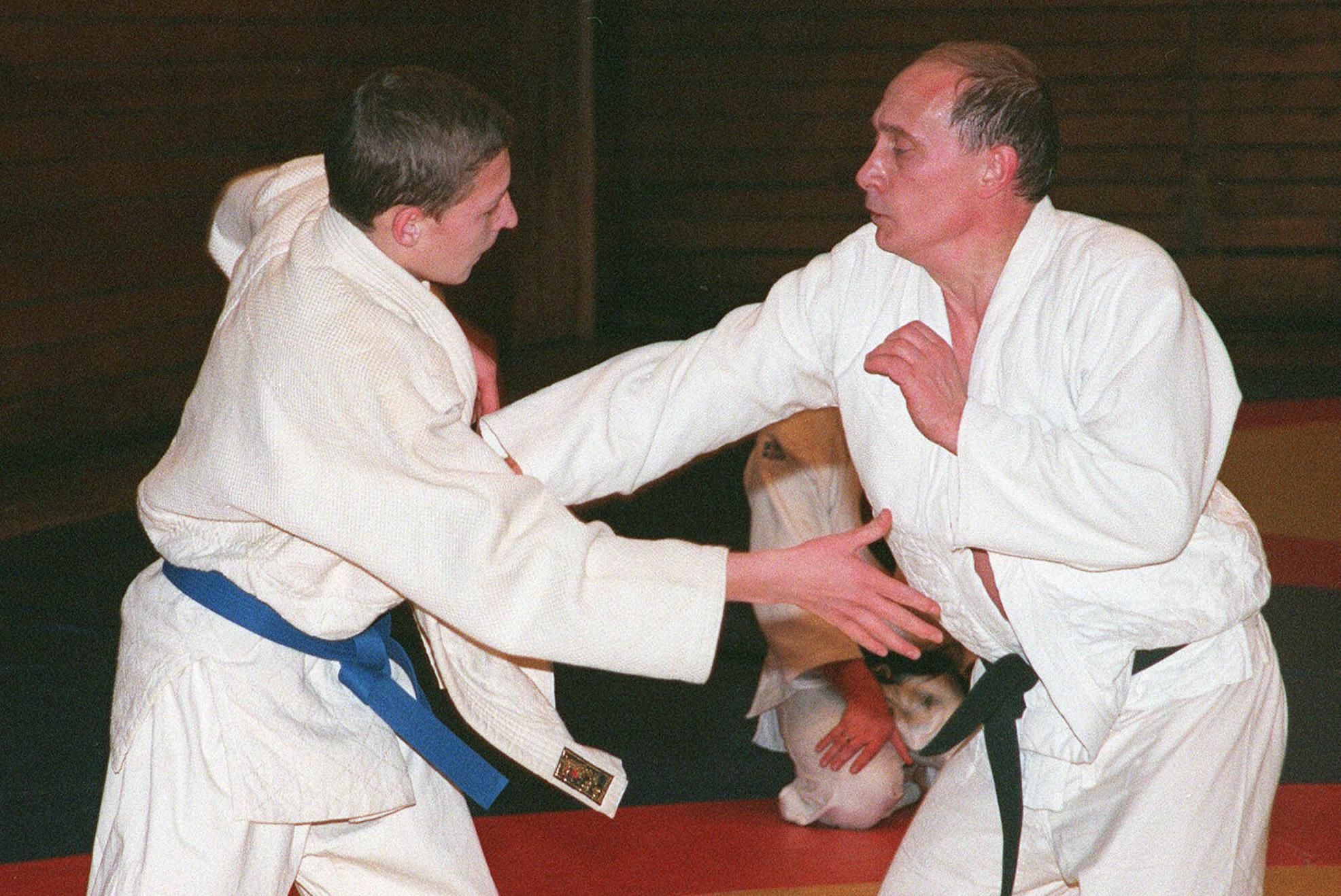 Is Vladimir Putin A Judo Fraud The Washington Post