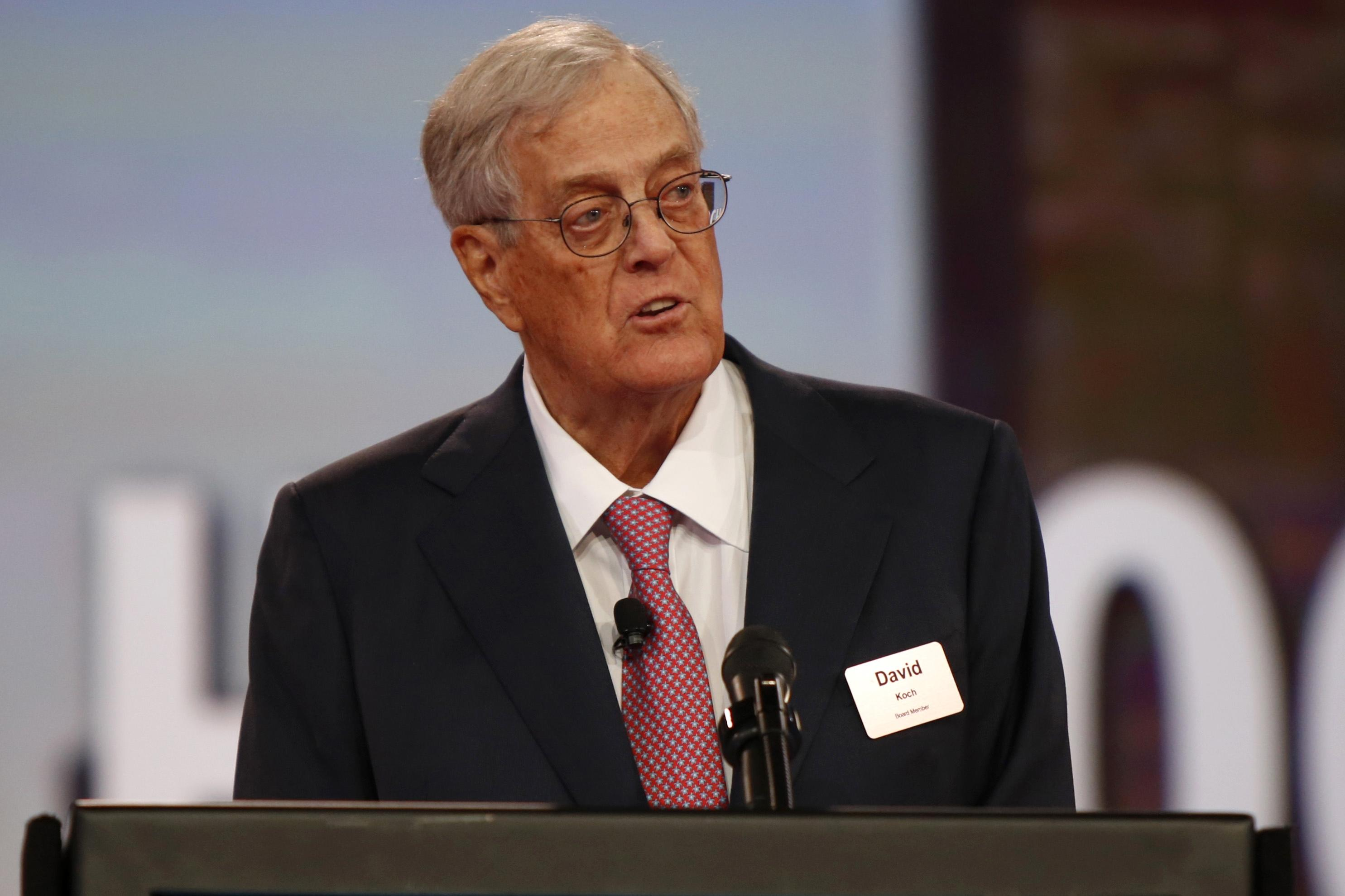 Charles David Koch We Know Who You Are >> David Koch Billionaire Industrialist Who Influenced Conservative
