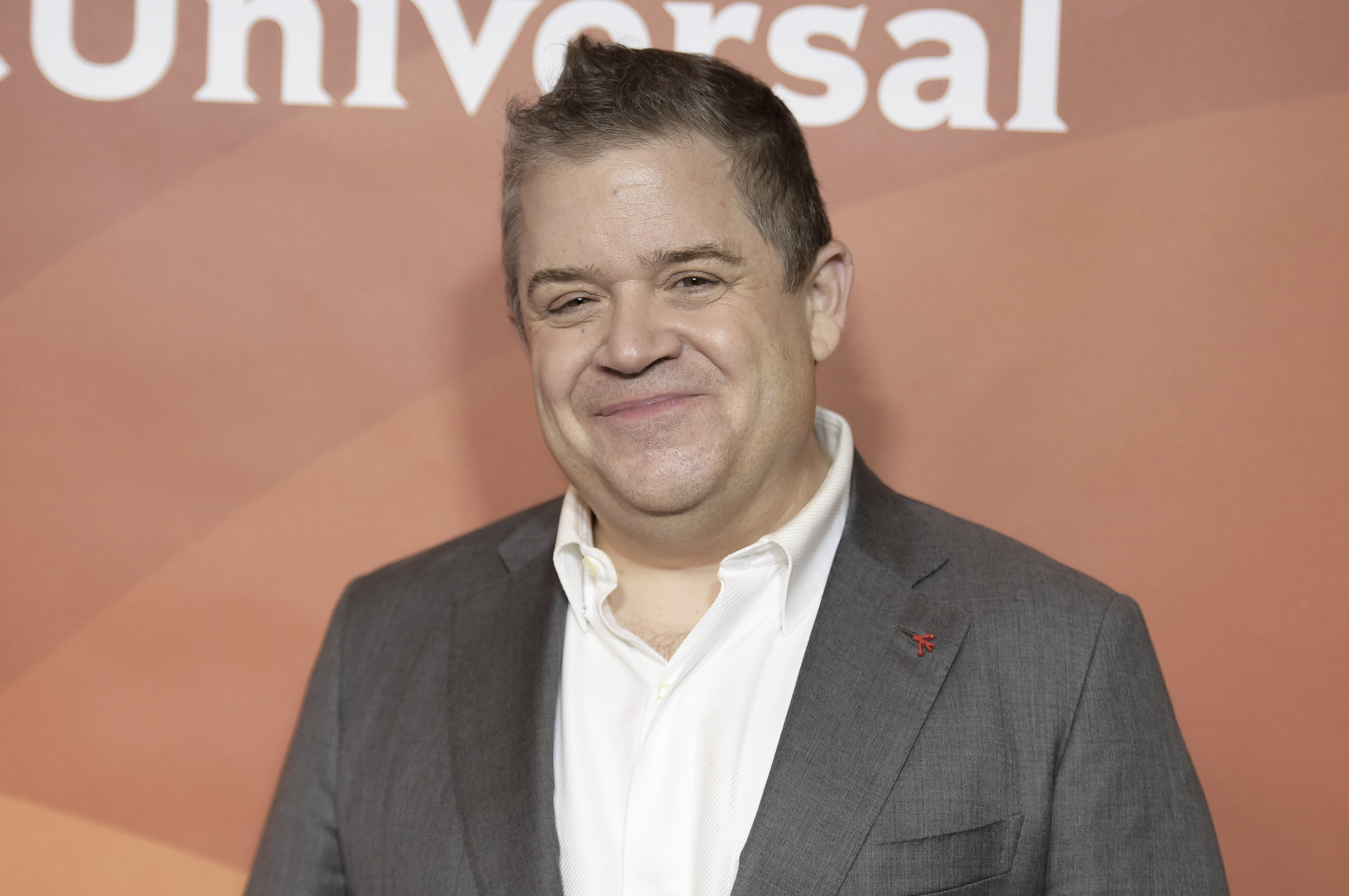 Patton Oswalt attends the red carpet event during the NBCUniversal Television Critics Association Winter Press Tour on Tuesday, Jan. 9, 2018, in Pasadena, Calif. (Photo by Richard Shotwell/Invision/AP)