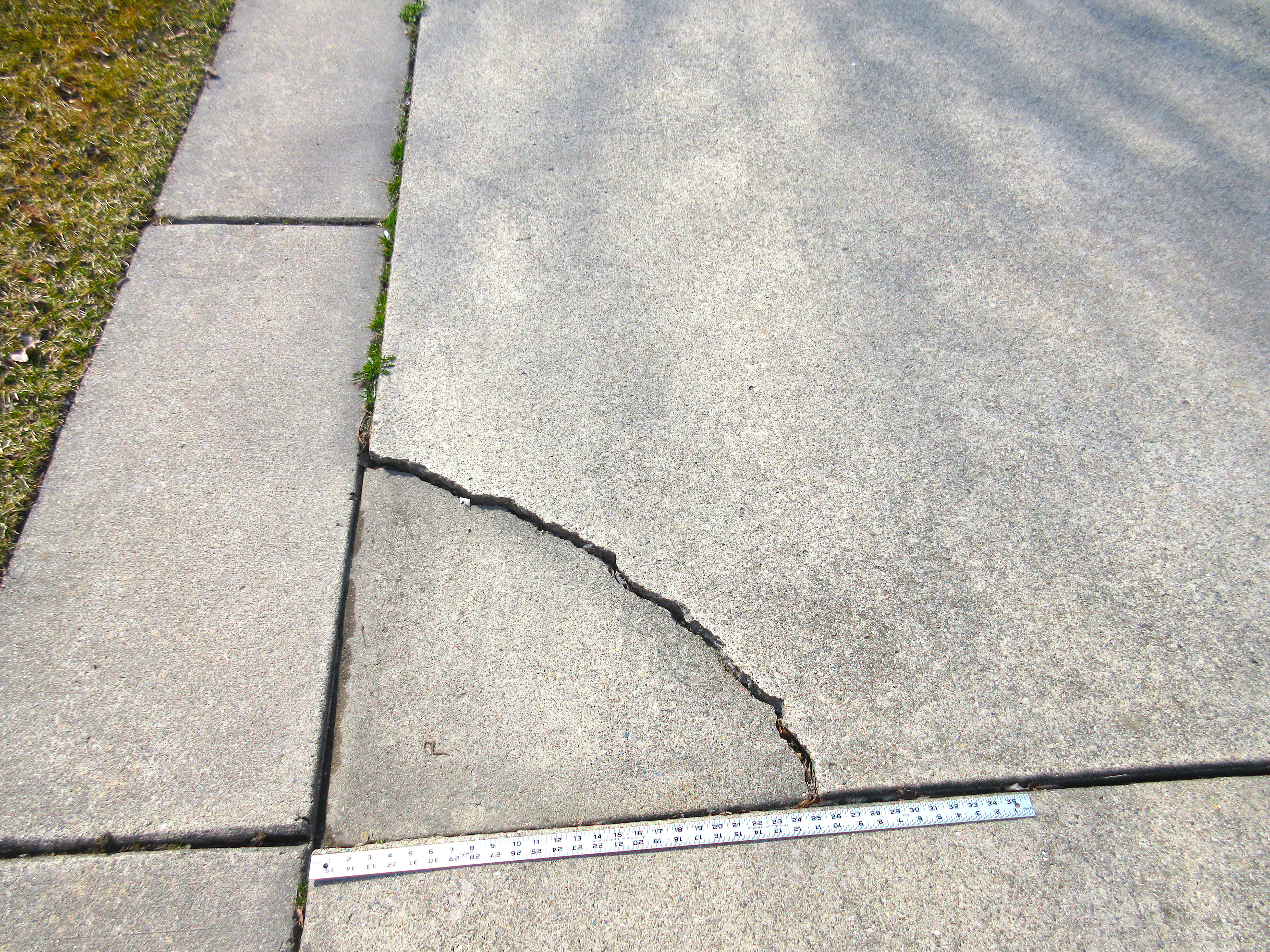 A Repair For Cracked Concrete That Almost Looks Perfect The Washington Post