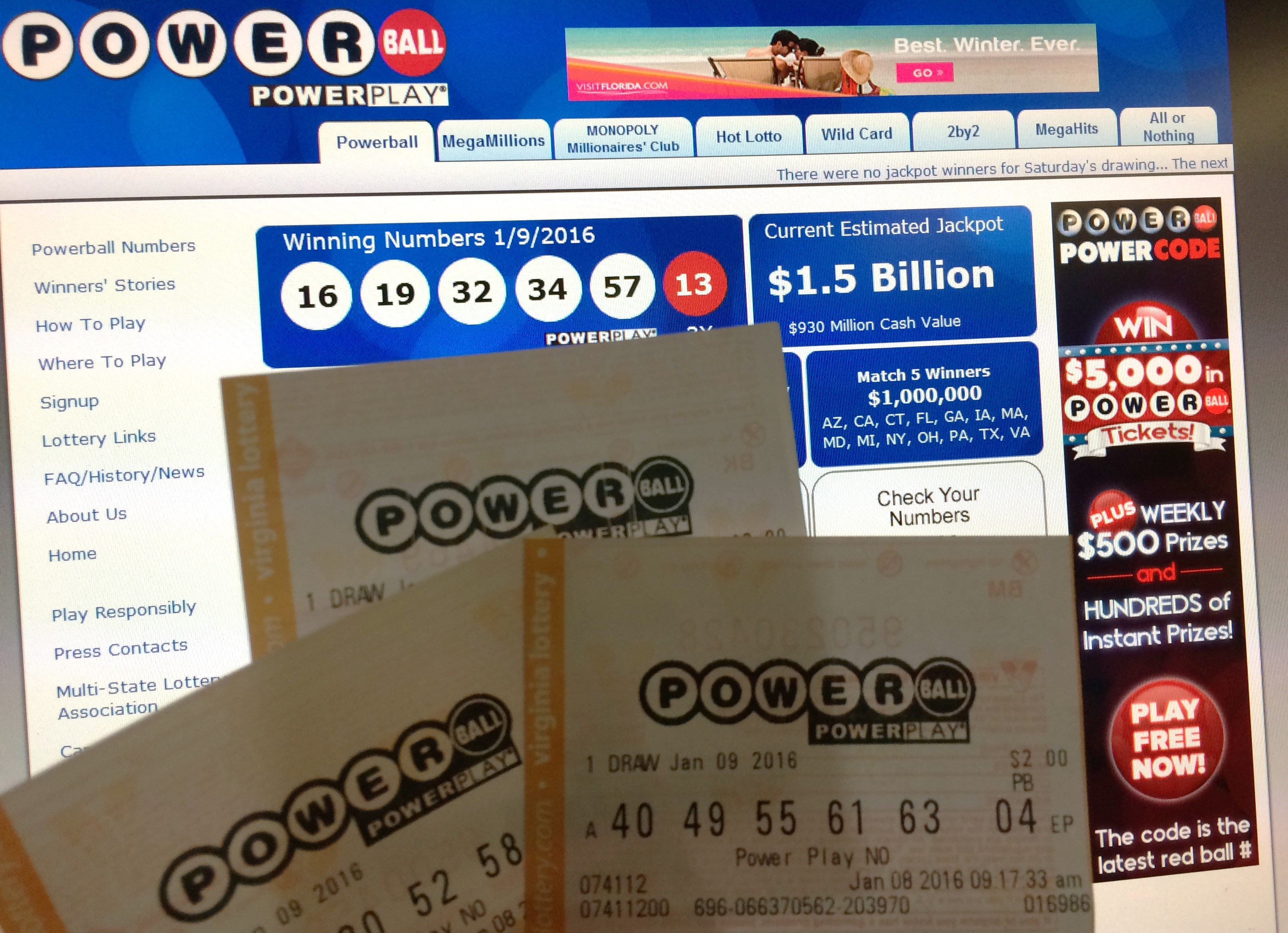 Interest Slips In Powerball Mega Millions As Jackpots Tumble During The Pandemic The Washington Post