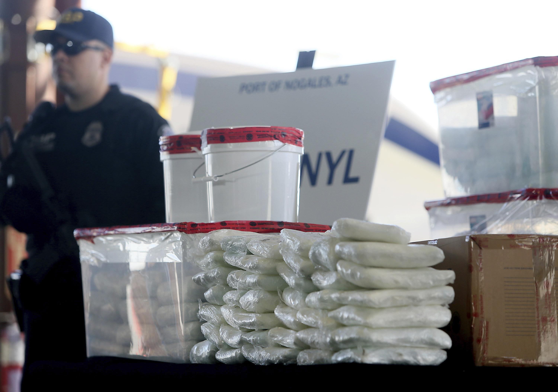 U S  border officers make largest-ever fentanyl bust: 254 pounds